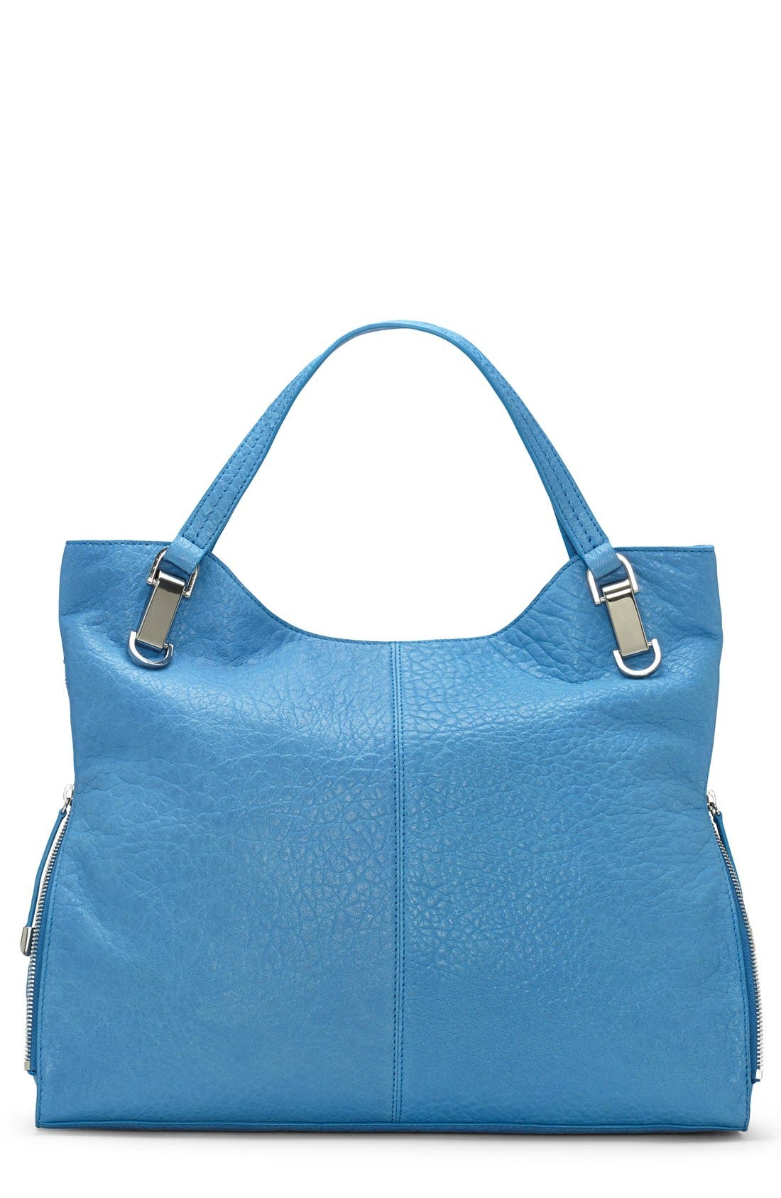 'Riley' Leather Tote,                             Main thumbnail 24, color,