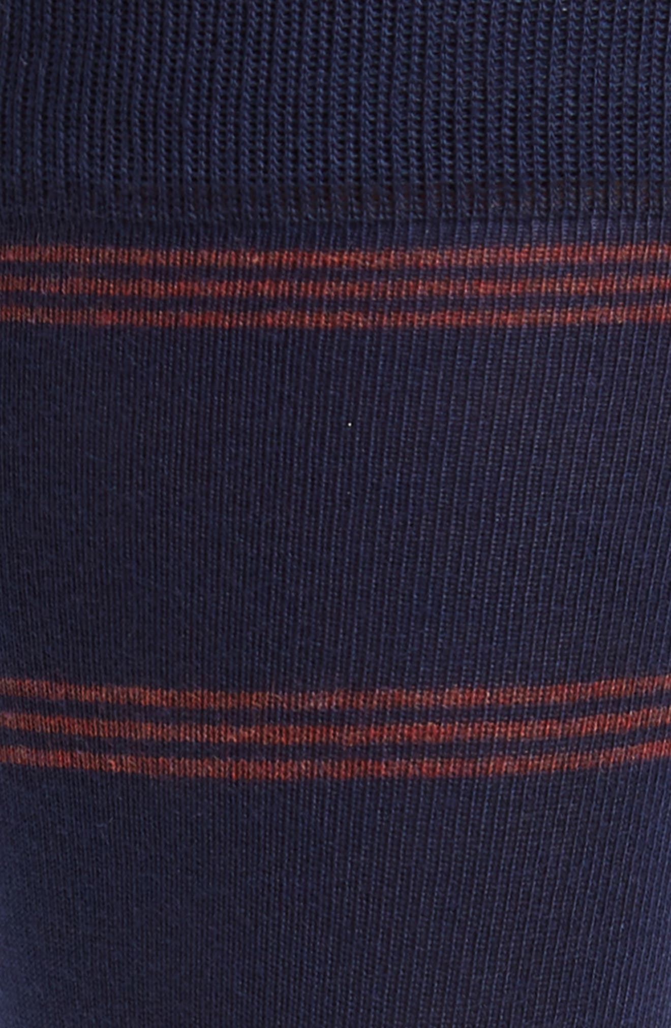 Triple Line Socks,                             Alternate thumbnail 2, color,