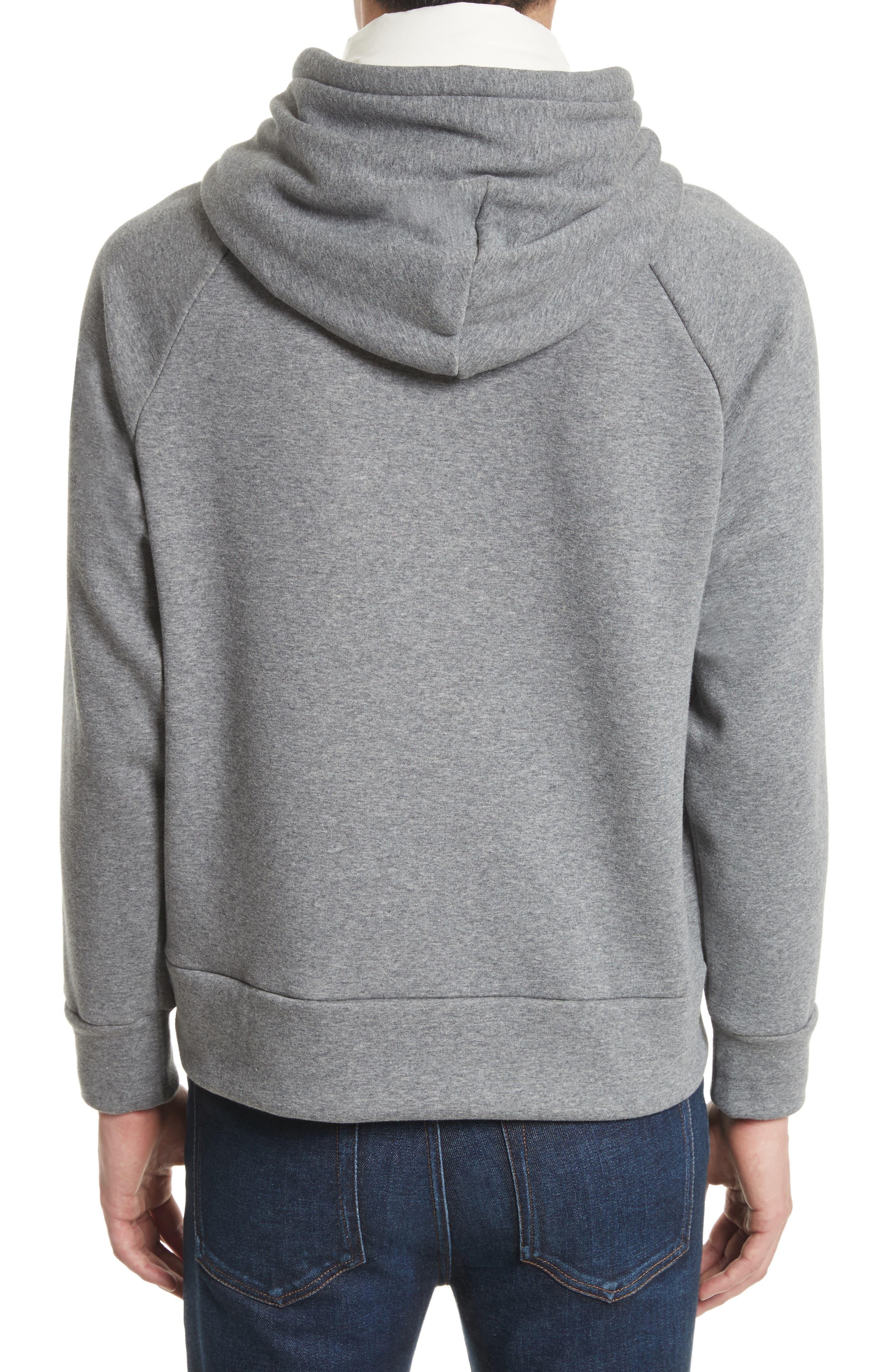 Grenoble Logo Patch Hooded Sweatshirt,                             Alternate thumbnail 2, color,                             021