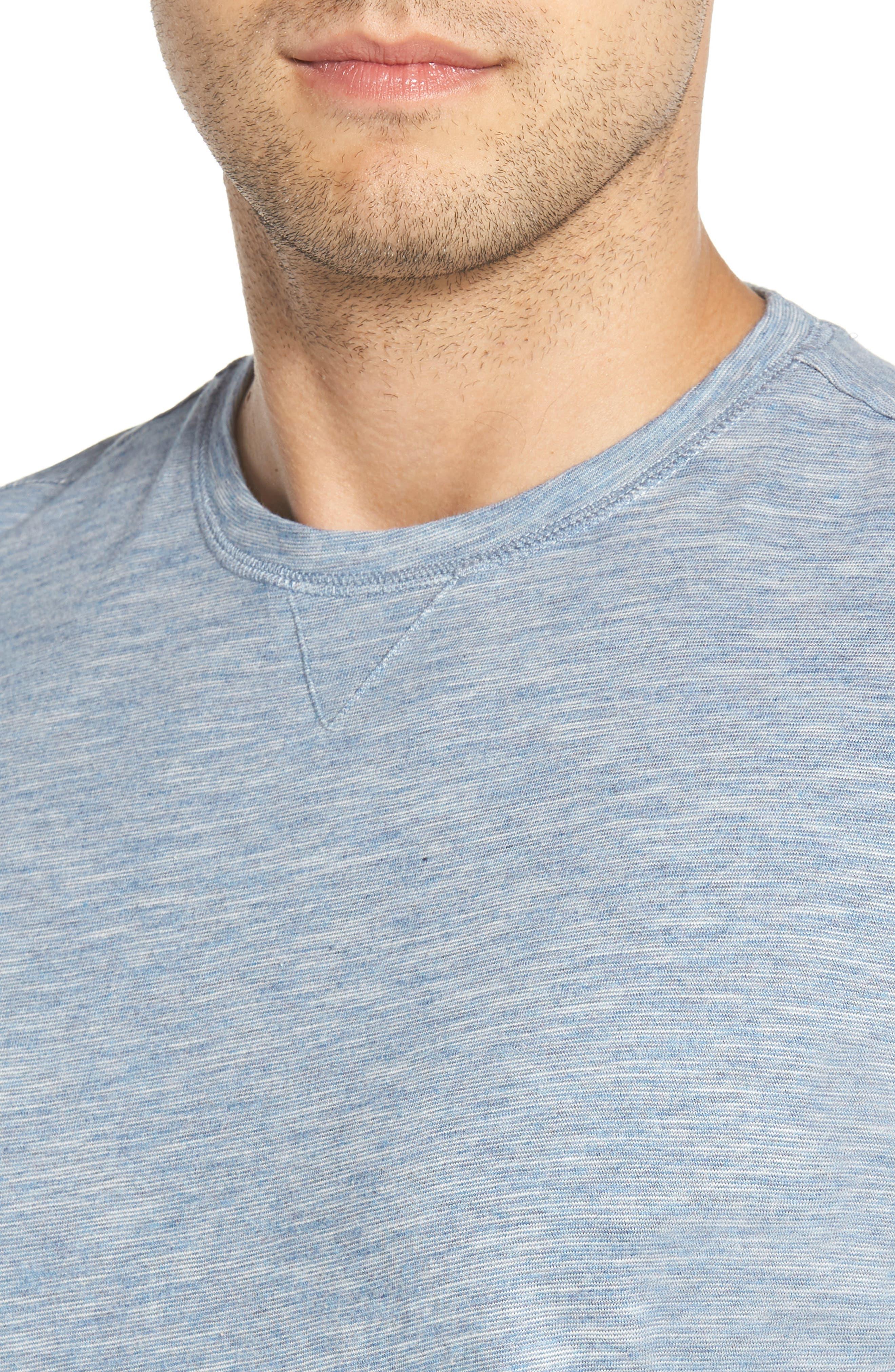 Slubbie Regular Fit Crewneck T-Shirt,                             Alternate thumbnail 4, color,                             021