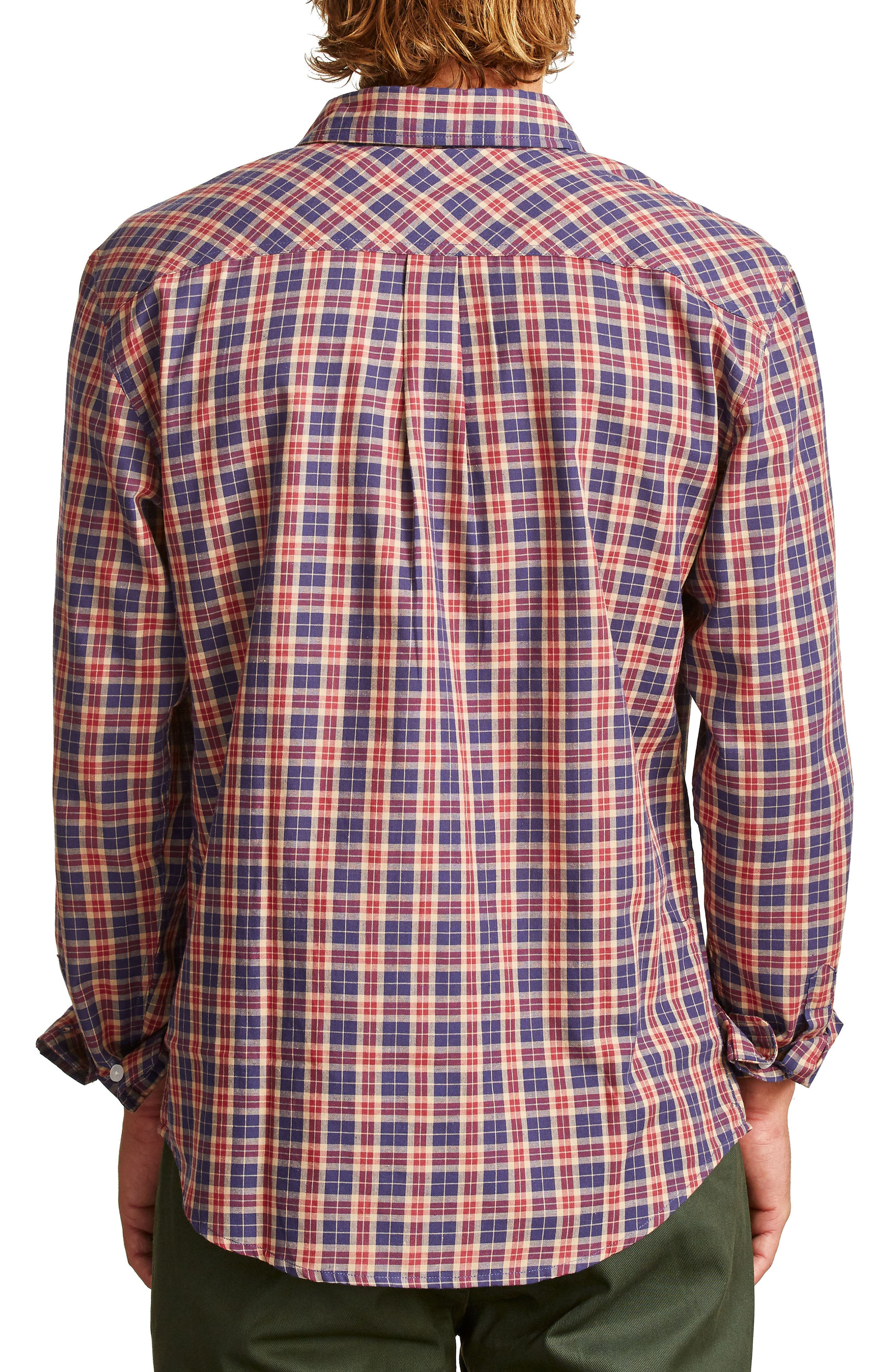 Memphis Woven Shirt,                             Alternate thumbnail 2, color,                             413