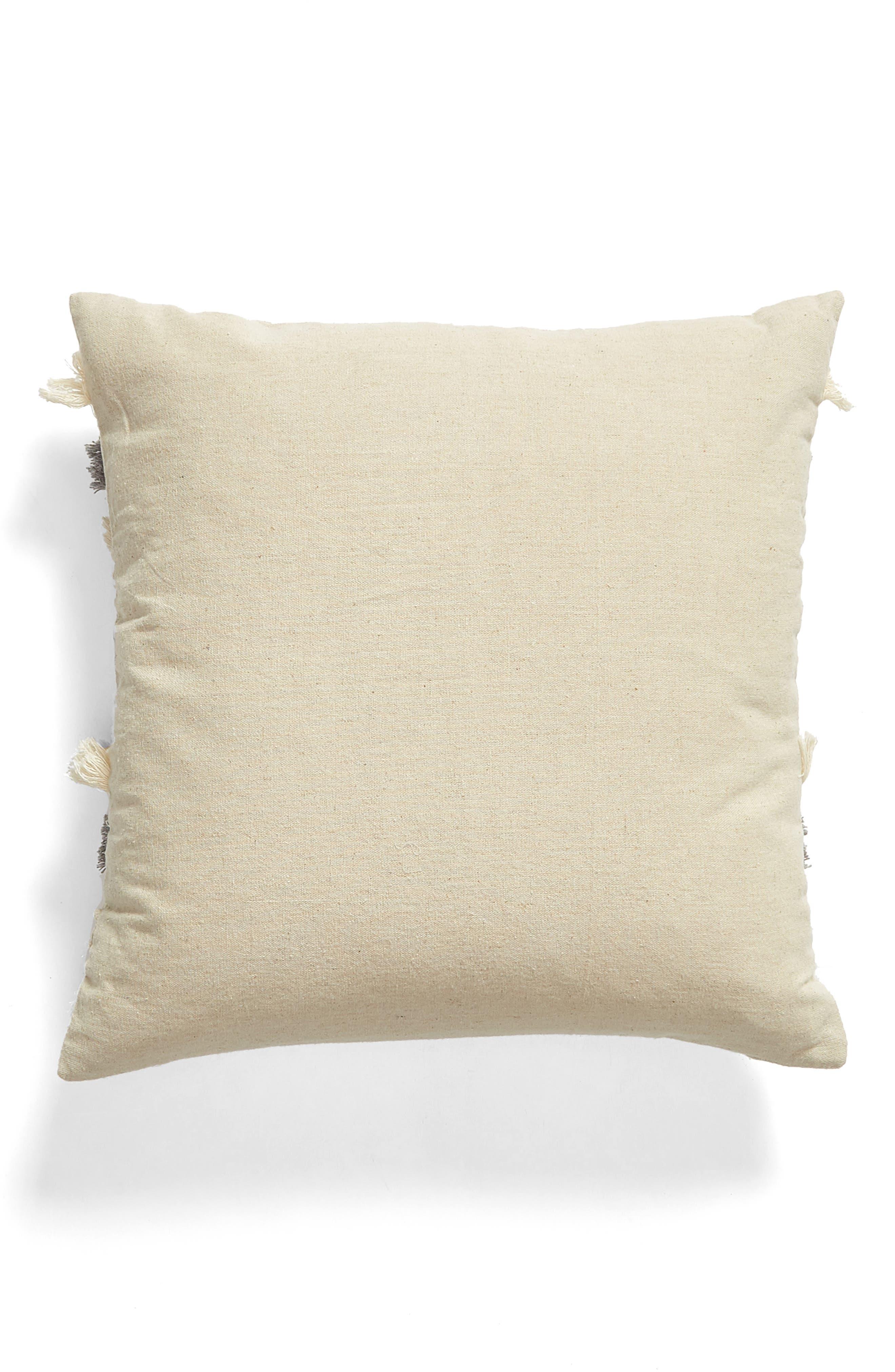 LEVTEX,                             Hilo Fringe Accent Pillow,                             Alternate thumbnail 2, color,                             NATURAL