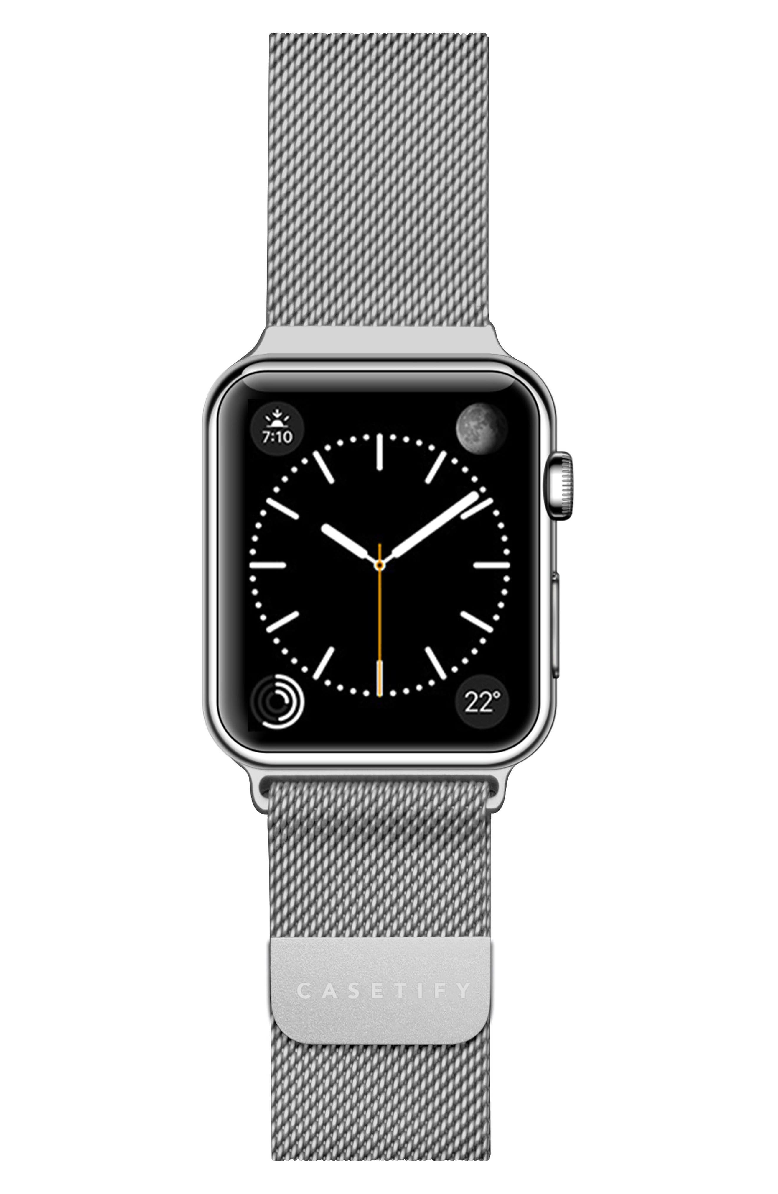 Mesh Apple Watch Strap, 38mm,                             Main thumbnail 2, color,