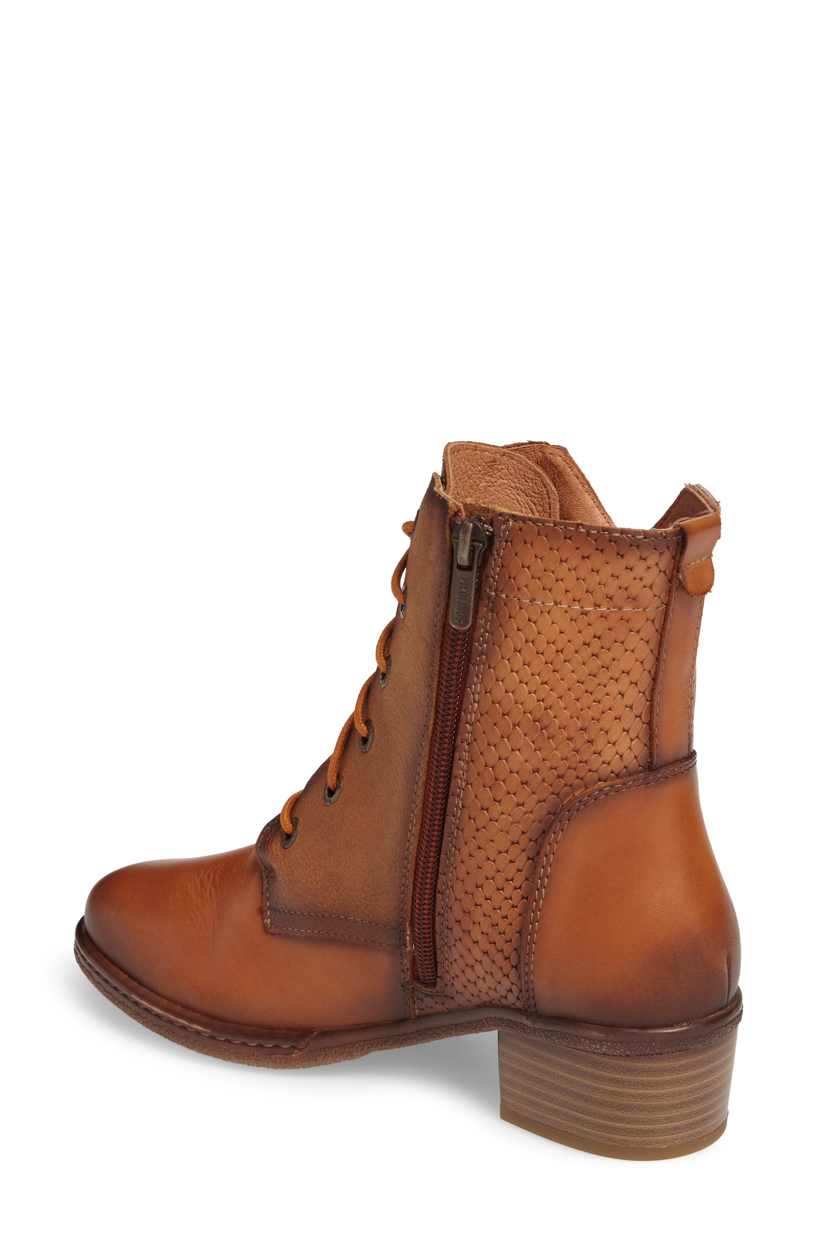 Zaragoza Water Resistant Lace-Up Boot,                             Alternate thumbnail 2, color,                             207