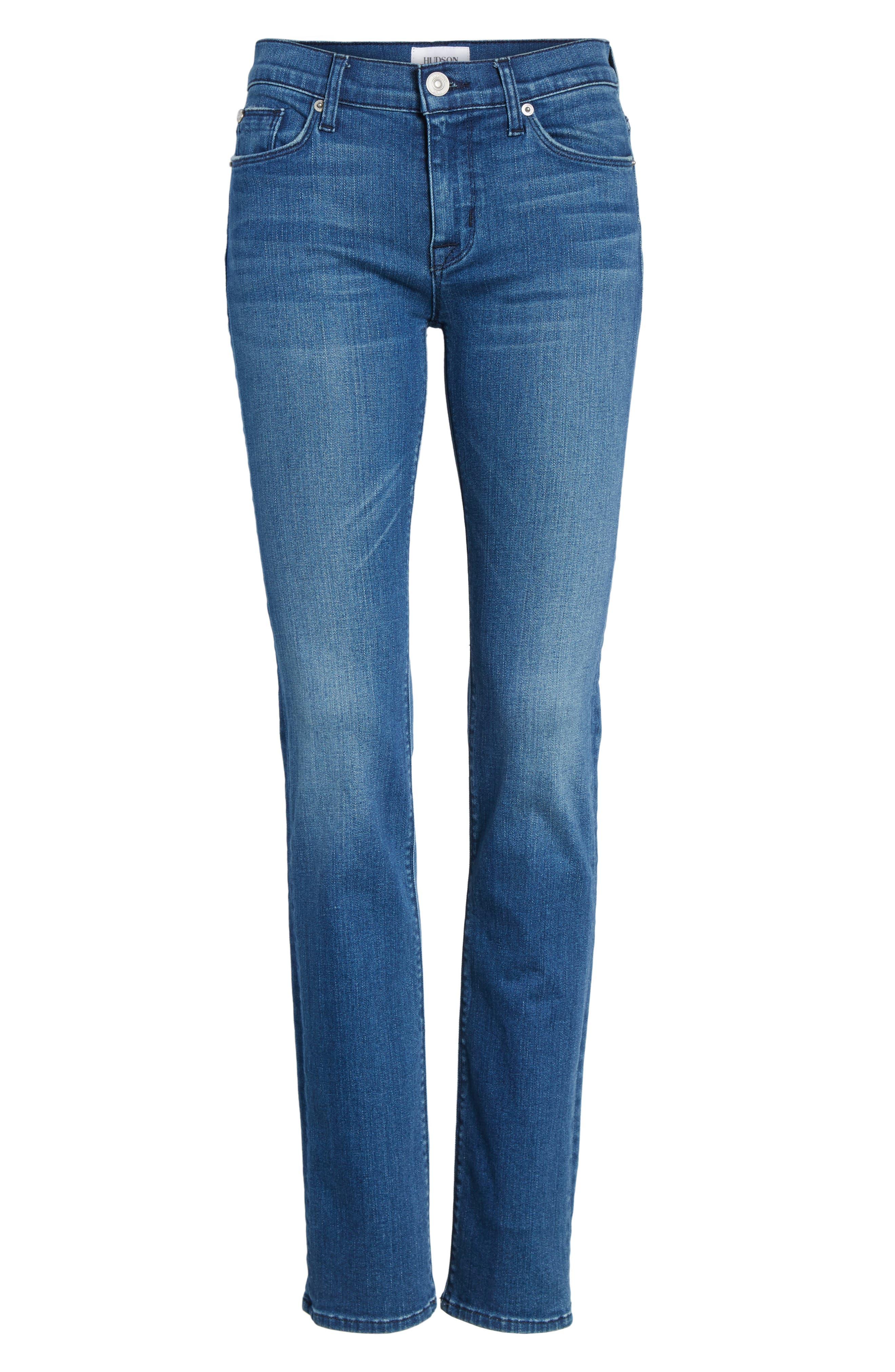 Tilda Cigarette Leg Jeans,                             Alternate thumbnail 6, color,