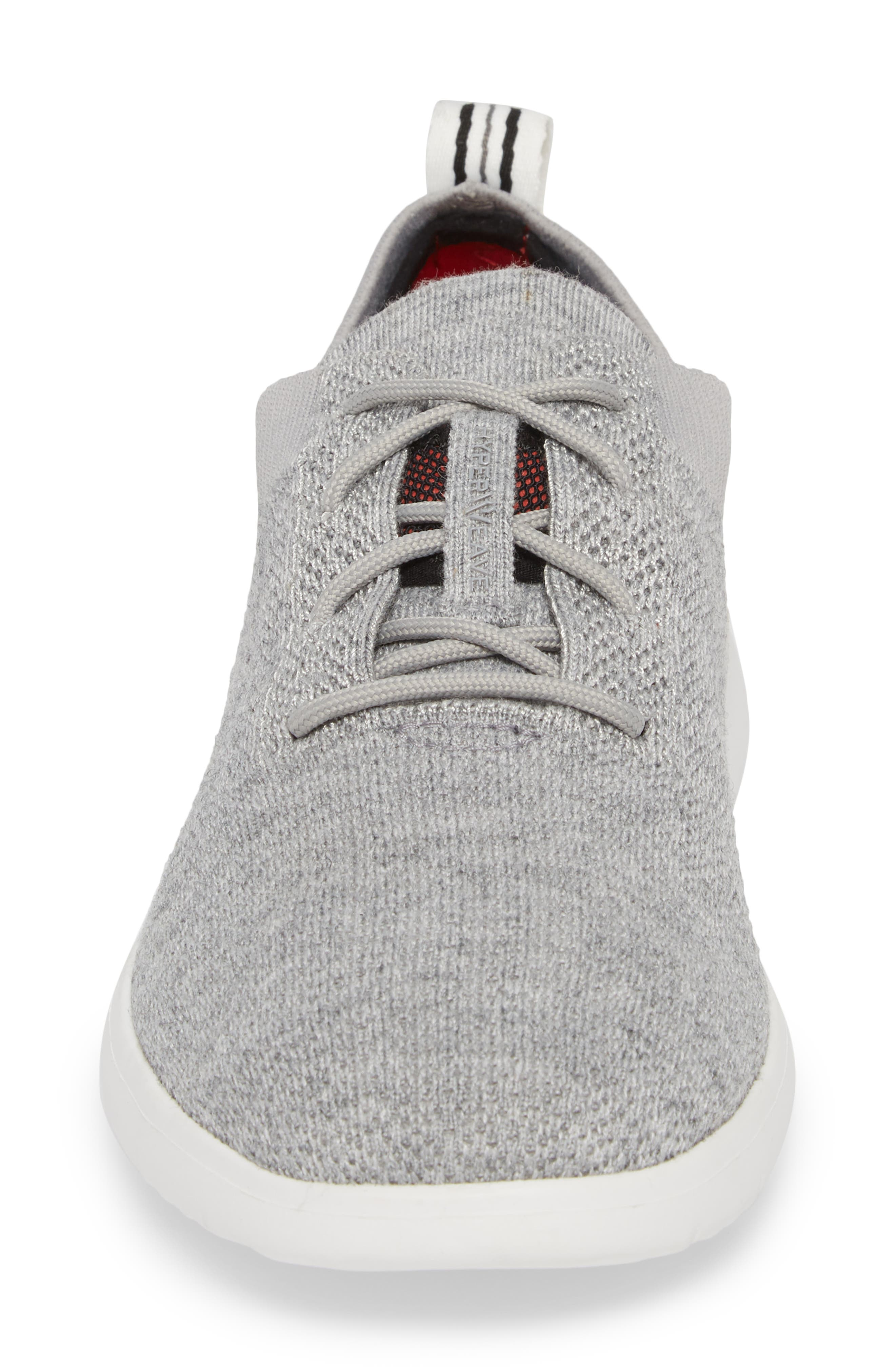 Feli HyperWeave Sneaker,                             Alternate thumbnail 4, color,                             SEAL LEATHER