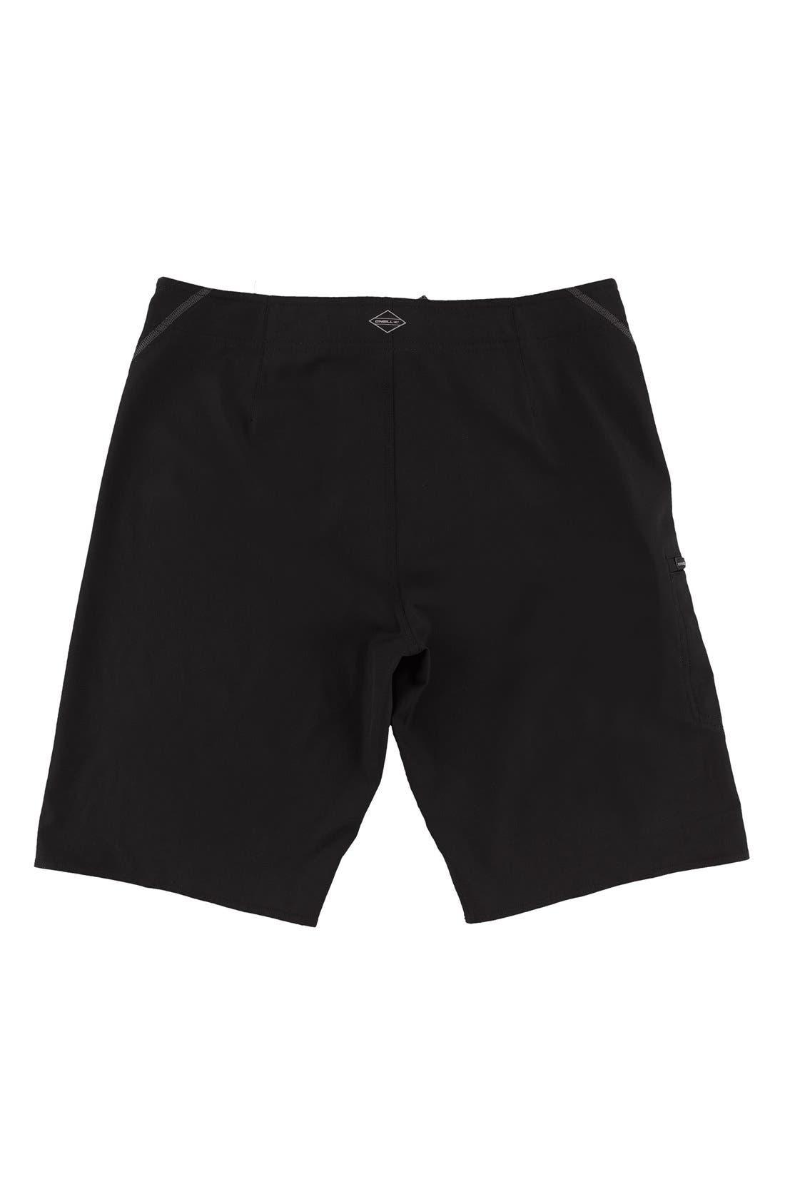 Hyperfreak S-Seam Stretch Board Shorts,                             Alternate thumbnail 2, color,                             001