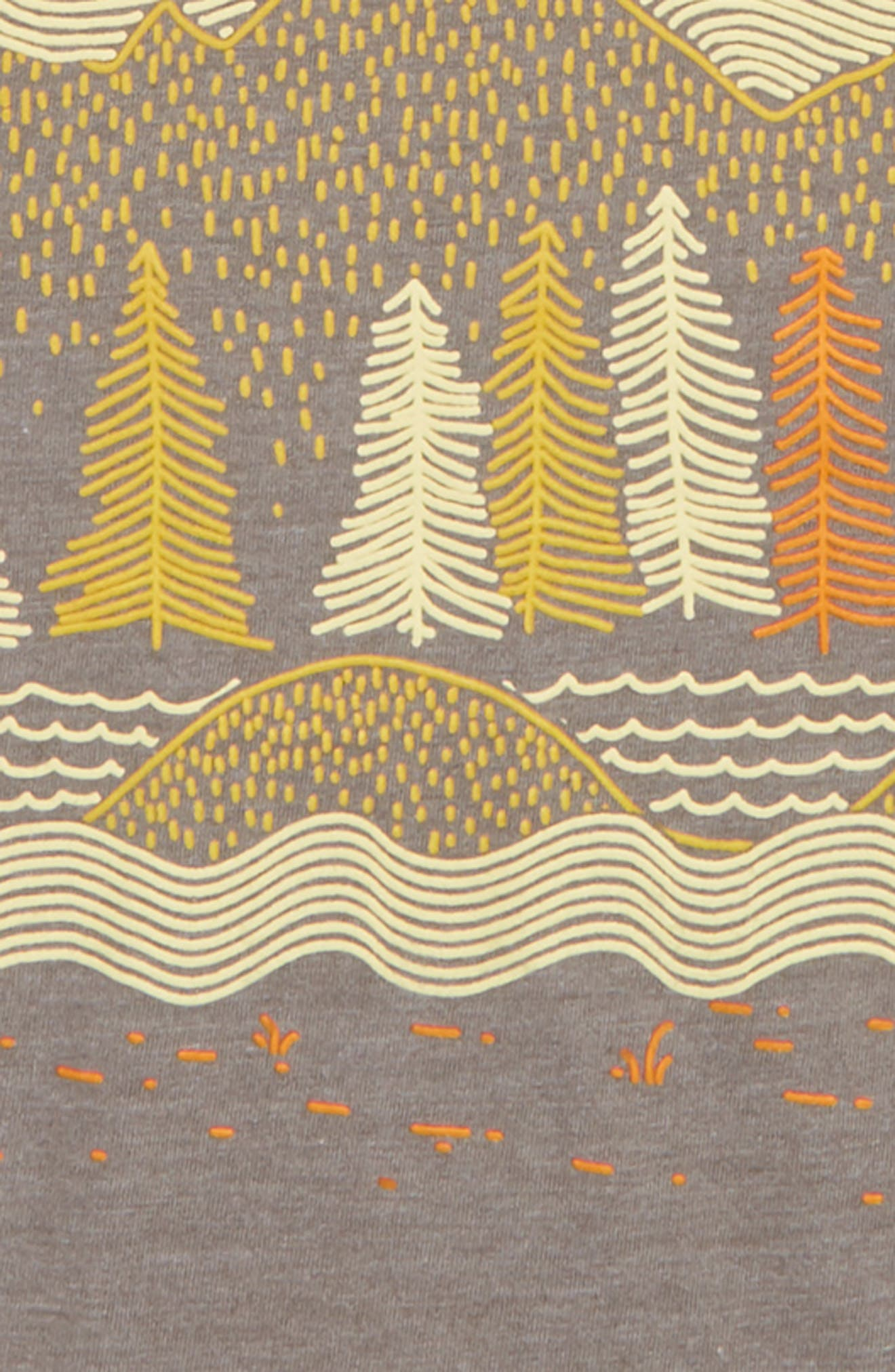 Graphic T-Shirt,                             Alternate thumbnail 2, color,                             GREY PEWTER MOUNTAINS