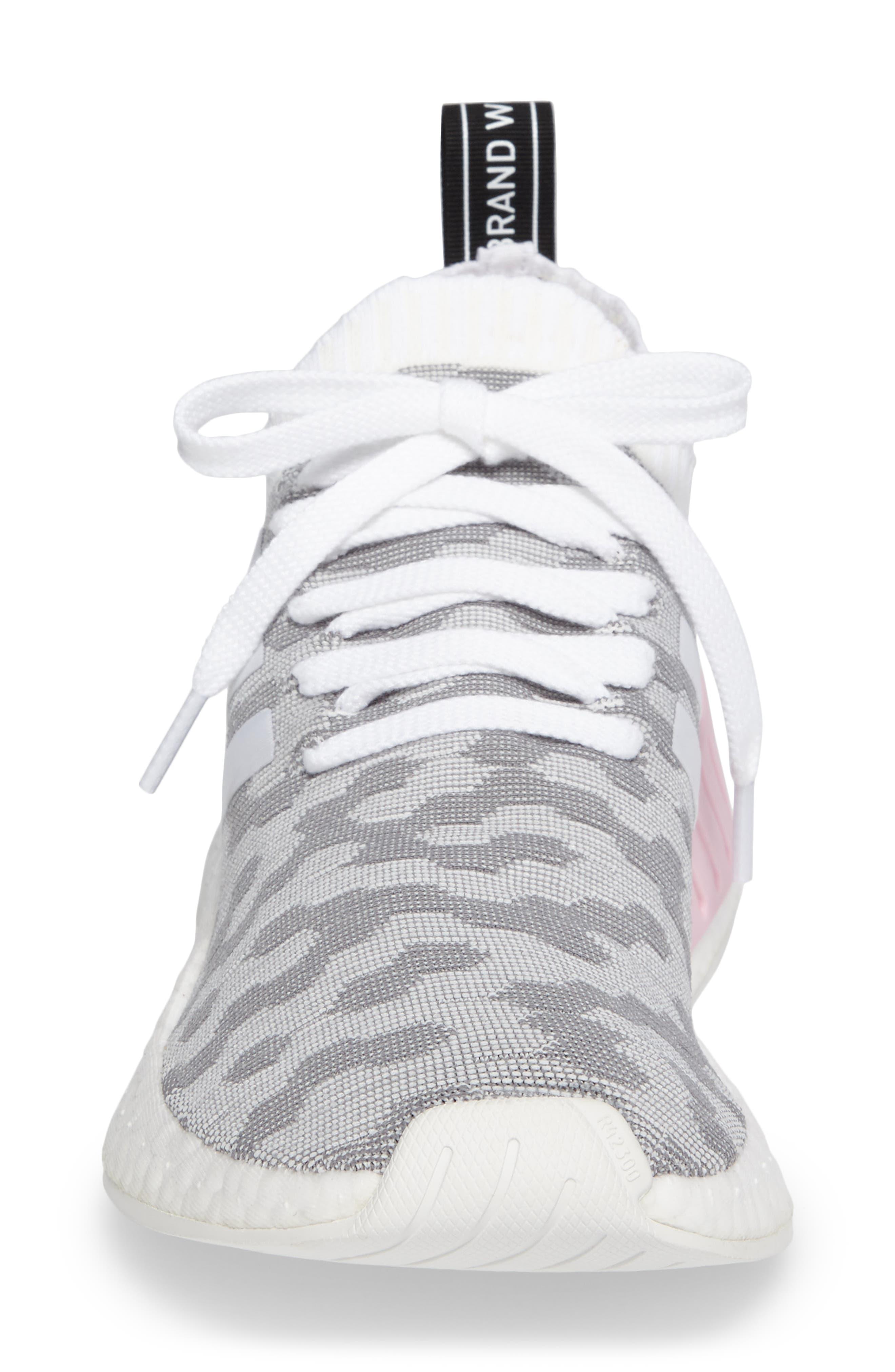 NMD R2 Primeknit Athletic Shoe,                             Alternate thumbnail 19, color,