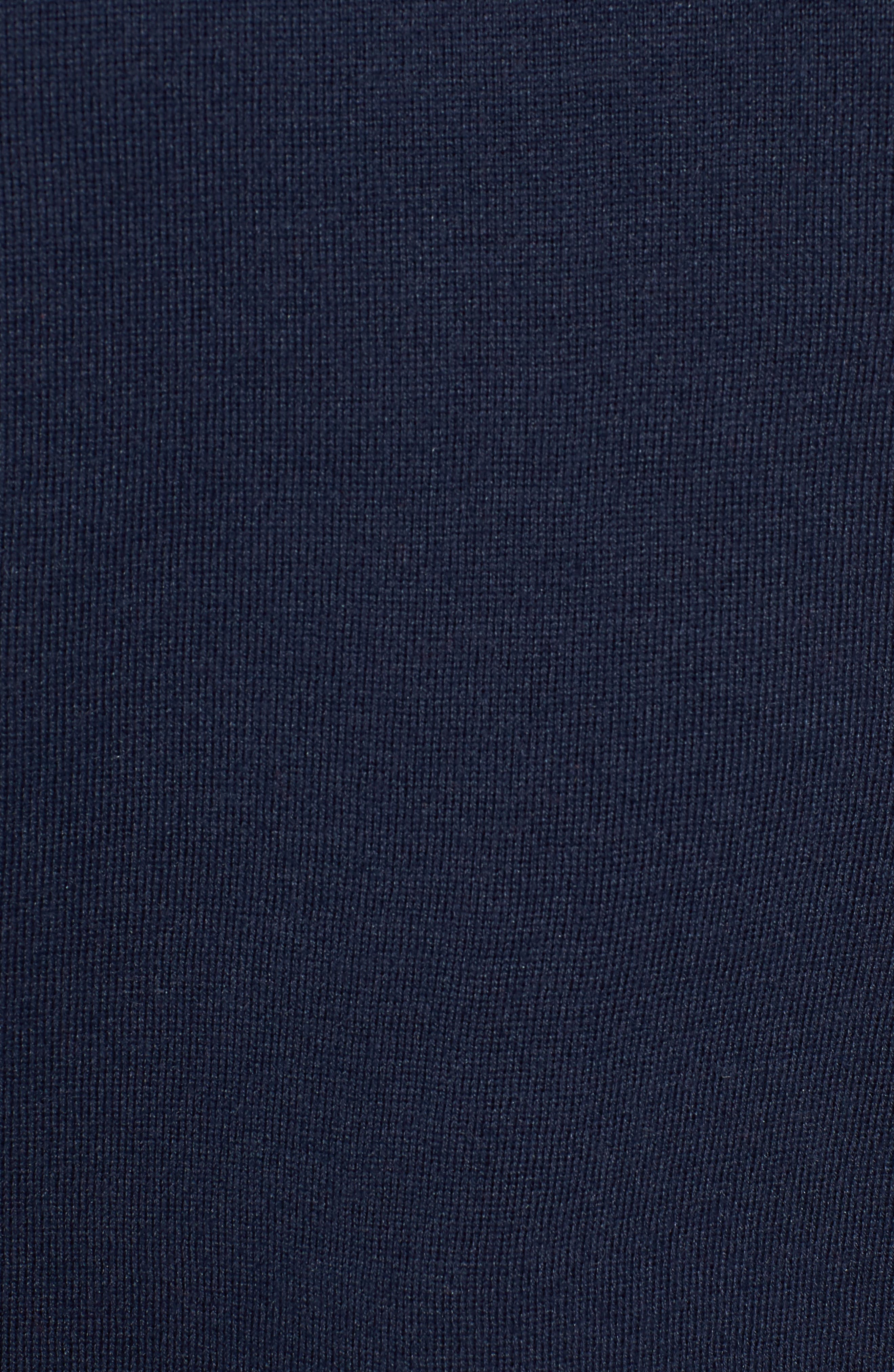 TJW Colorblock Sweater,                             Alternate thumbnail 5, color,                             BLUE