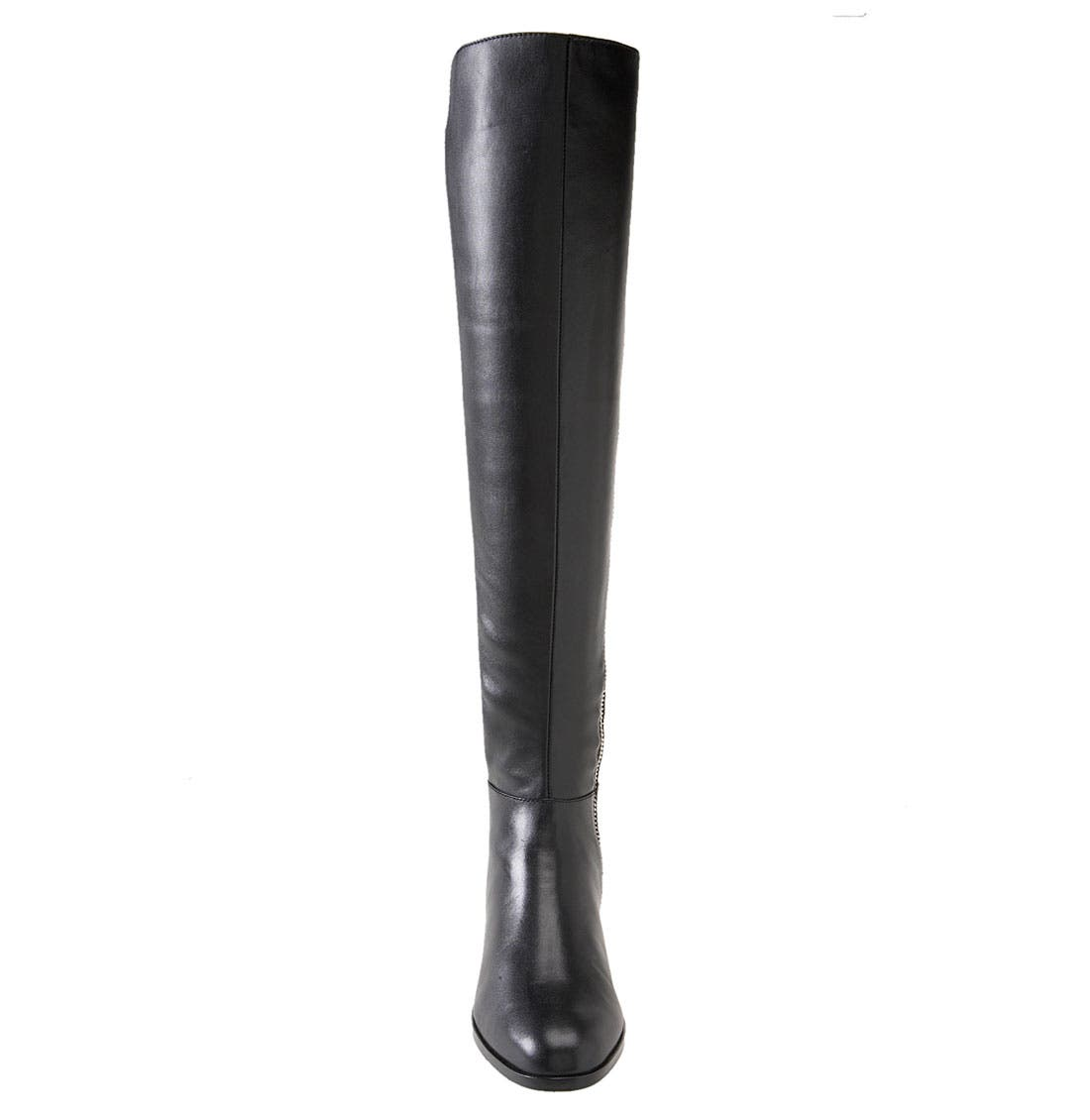 'Bromley' Over the Knee Boot,                             Alternate thumbnail 3, color,                             001