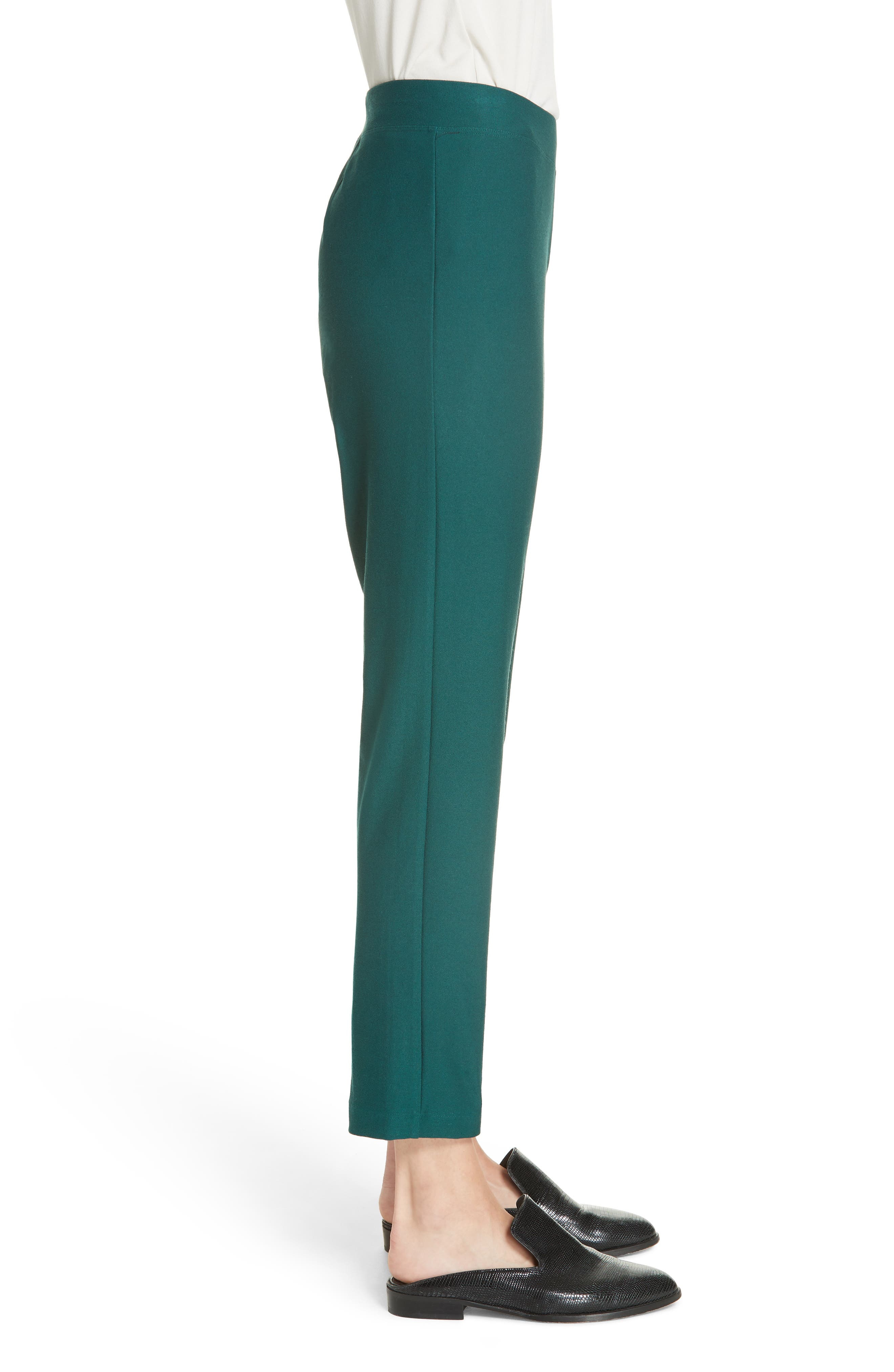 Stretch Crepe Slim Ankle Pants,                             Alternate thumbnail 55, color,