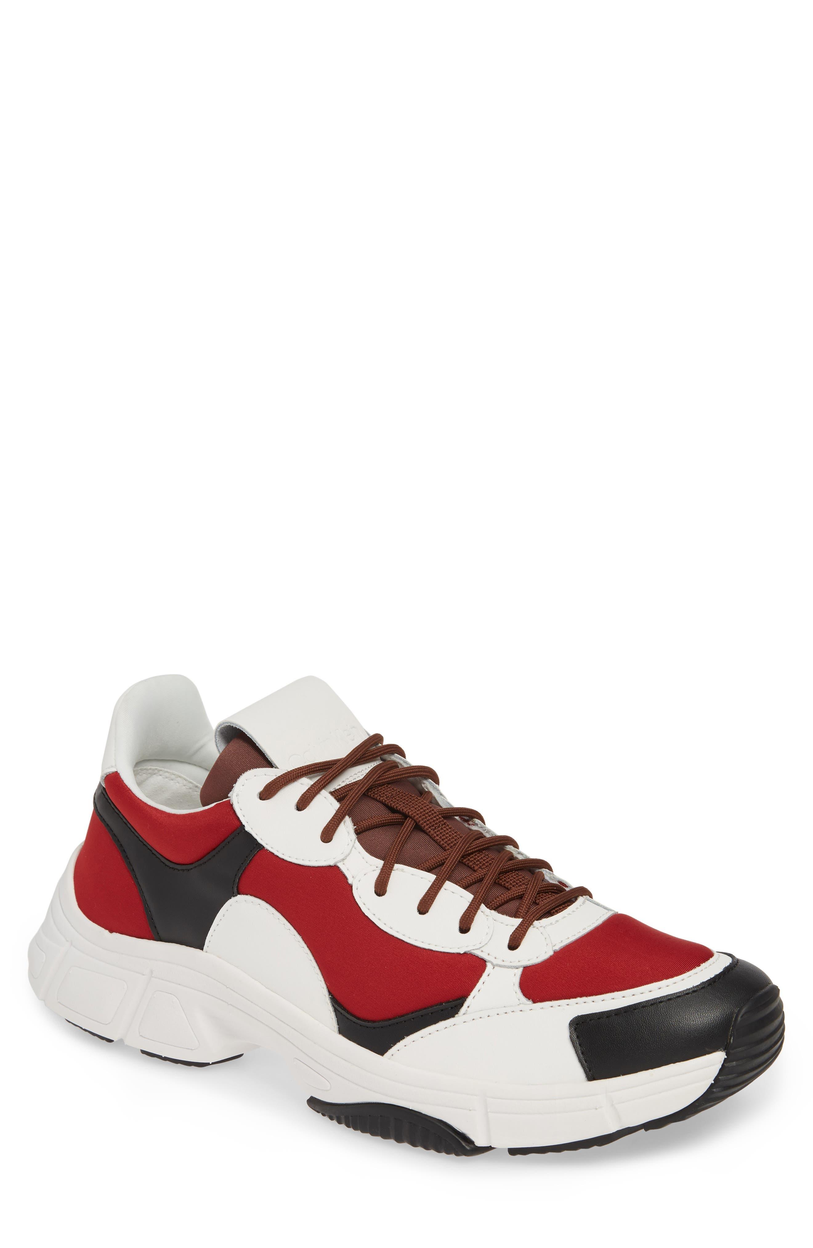 Calvin Klein Daxton Sneaker, Red