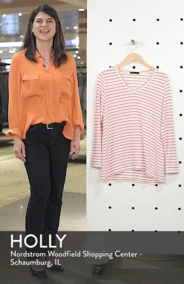 x Living in Yellow Steph Cozy Stripe Top, sales video thumbnail
