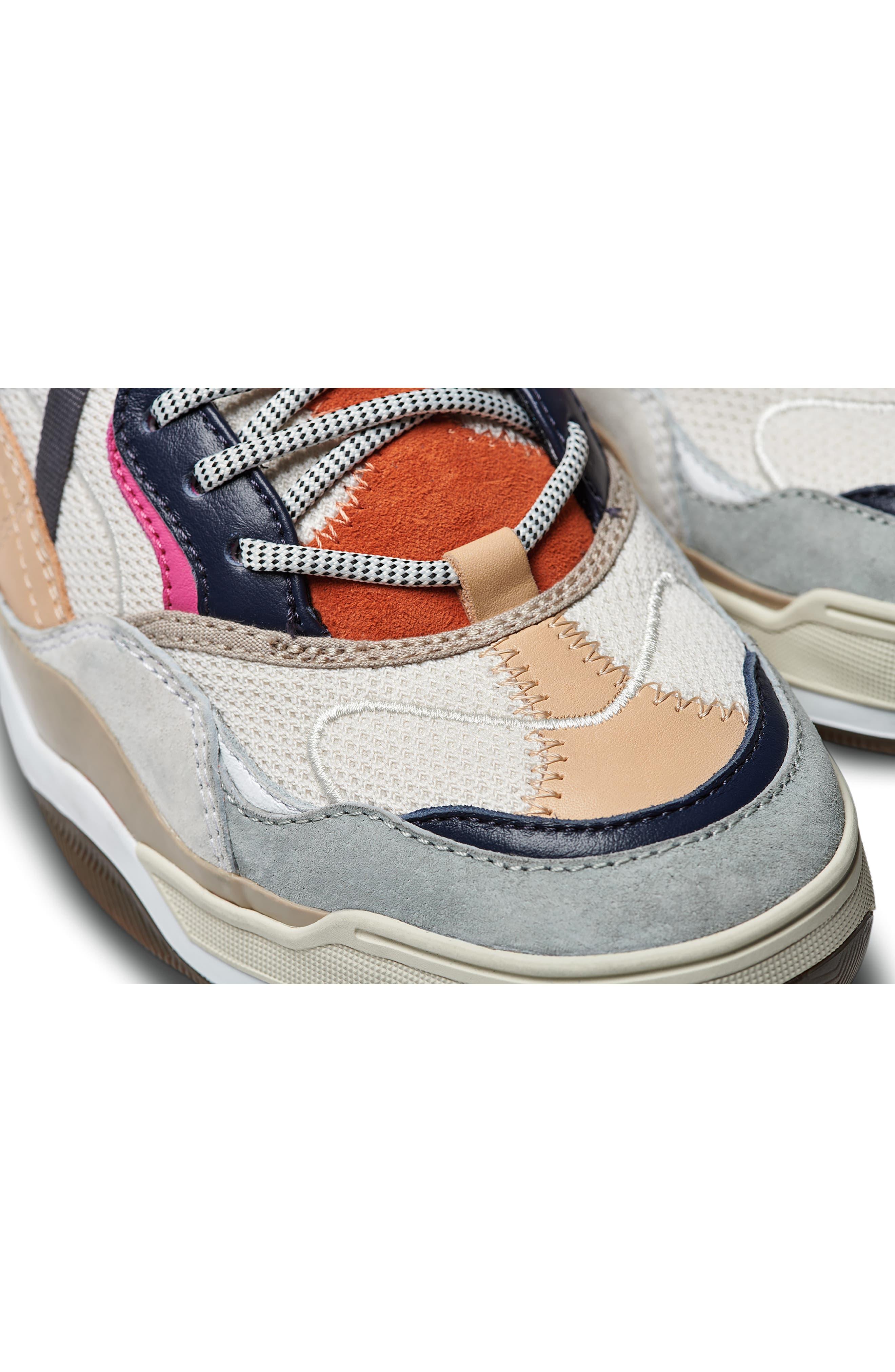 VANS,                             Varix WC Sneaker,                             Alternate thumbnail 10, color,                             TURTLEDOVE/ TRUE WHITE LEATHER