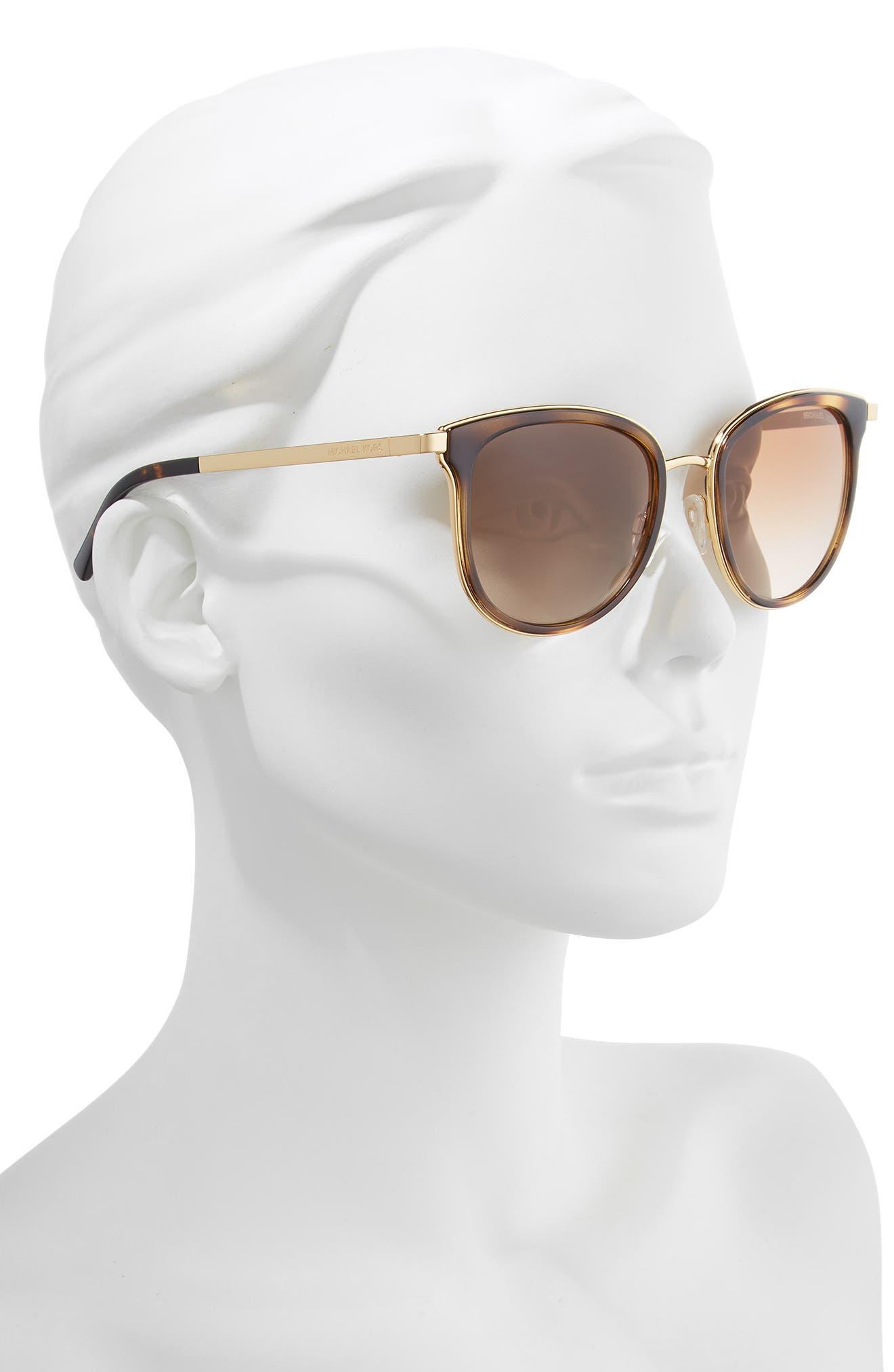 54mm Round Sunglasses,                             Alternate thumbnail 2, color,                             200