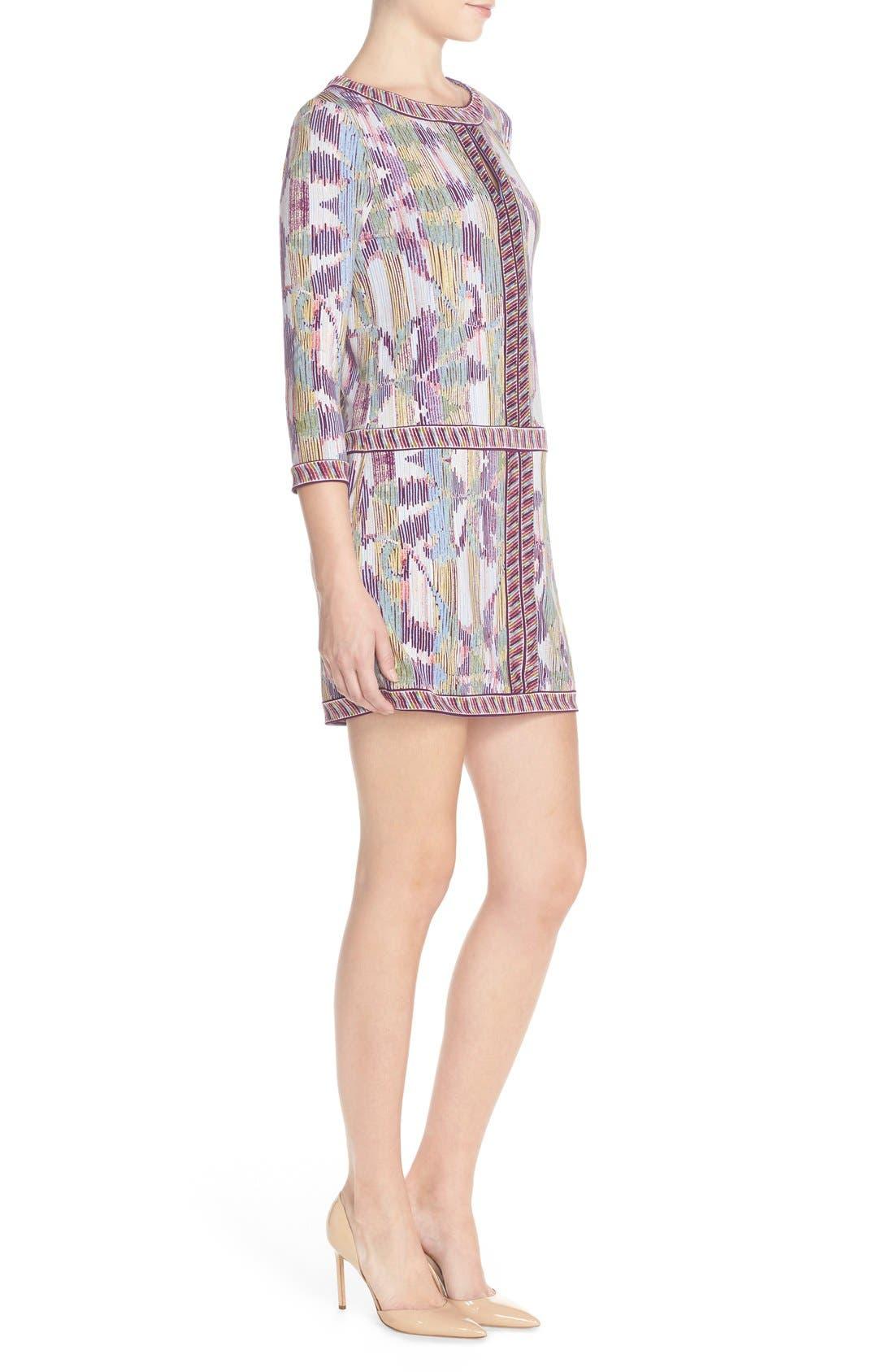 'Tawnya' Print Jersey Dress,                             Alternate thumbnail 6, color,                             590