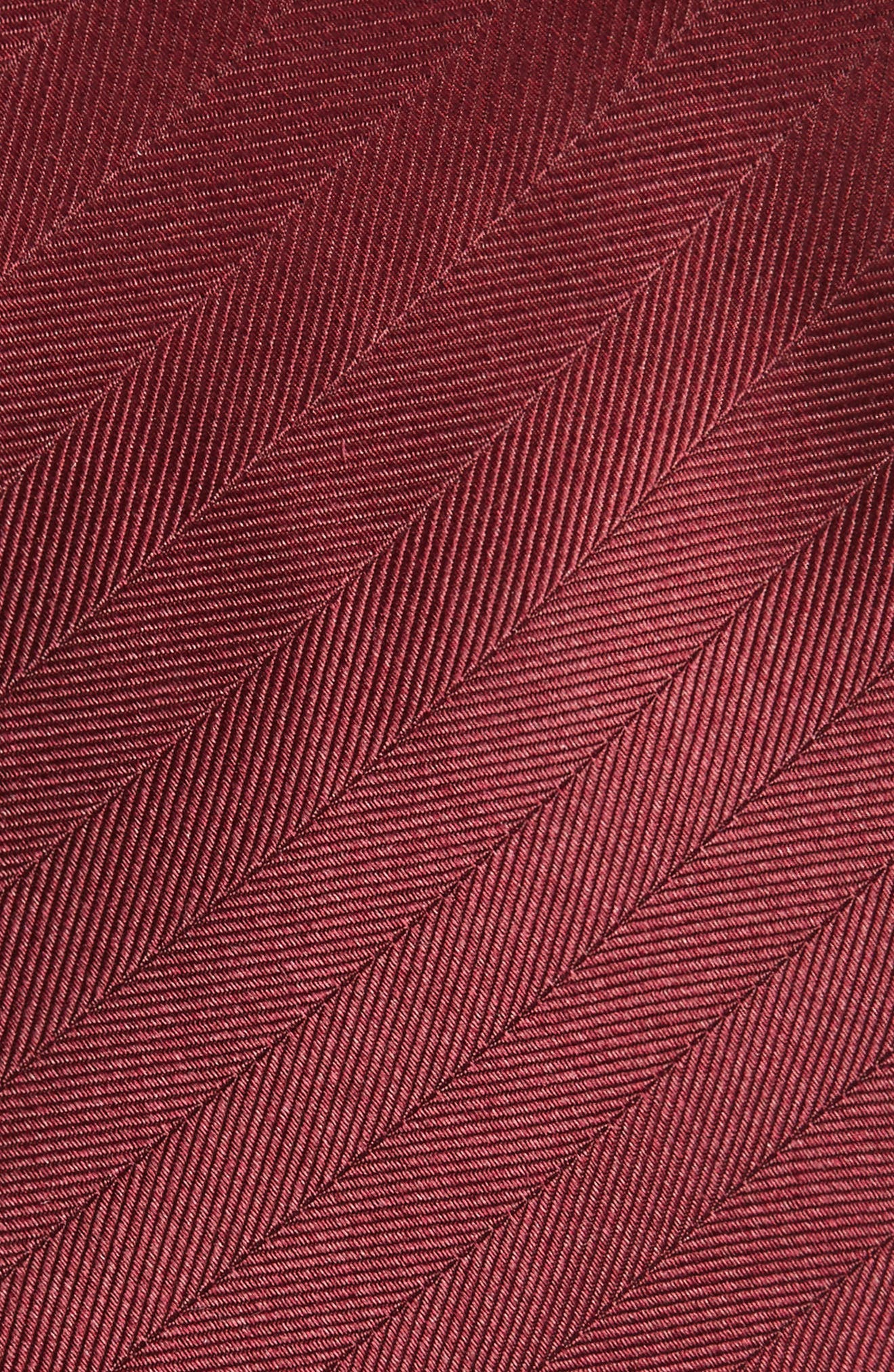 Herringbone Silk Tie,                             Alternate thumbnail 15, color,