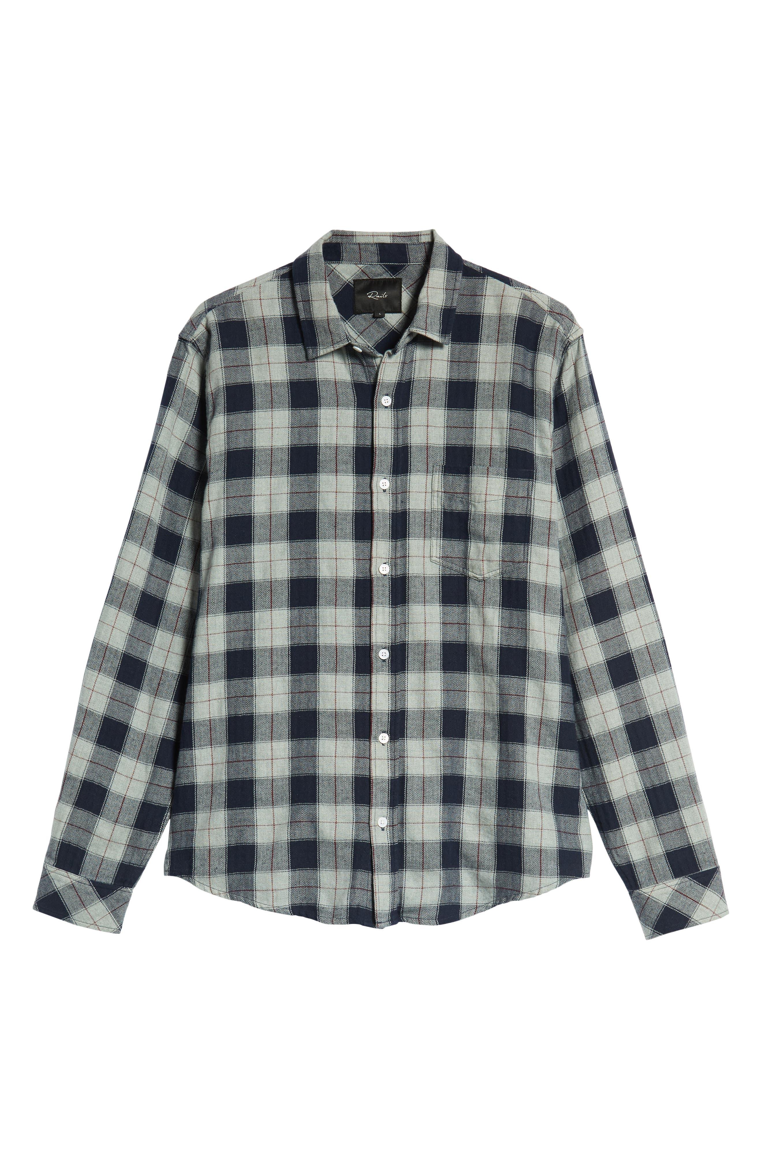 Harper Regular Fit Plaid Sport Shirt,                             Alternate thumbnail 6, color,                             071