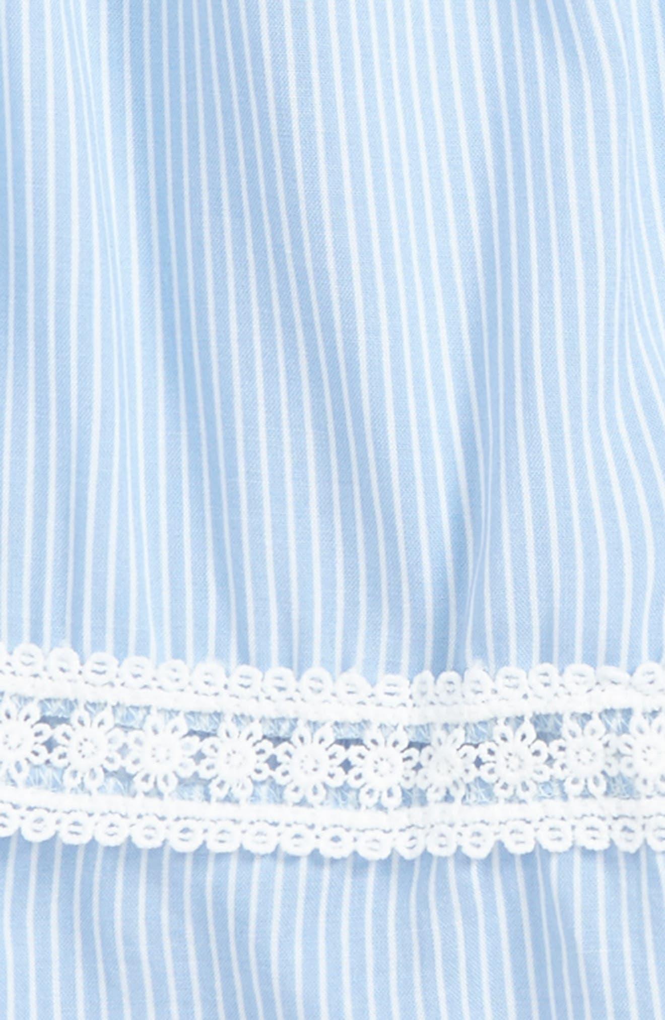 Stripe Off the Shoulder Top,                             Alternate thumbnail 2, color,                             402