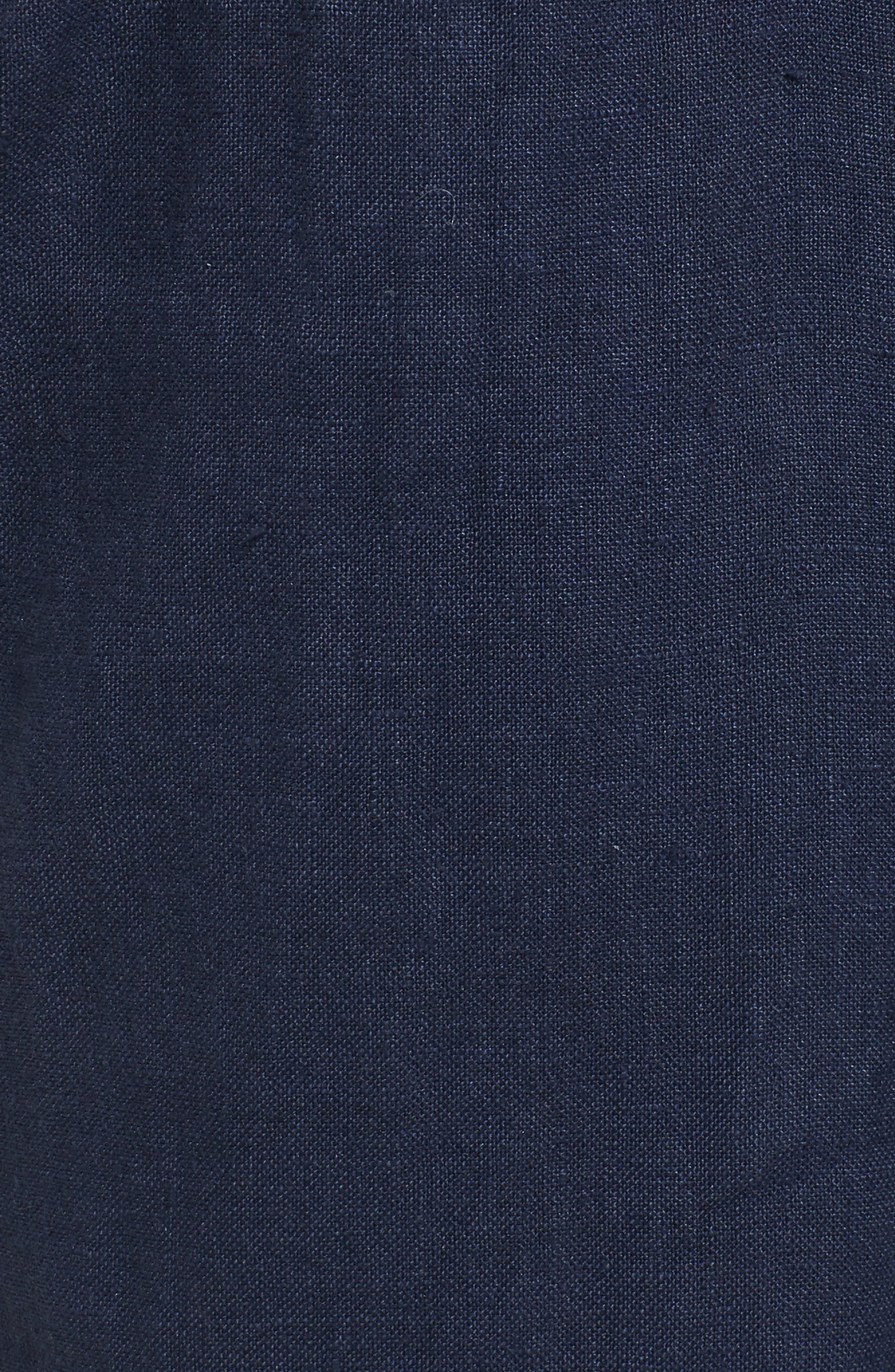 Crop Linen Joggers,                             Alternate thumbnail 30, color,