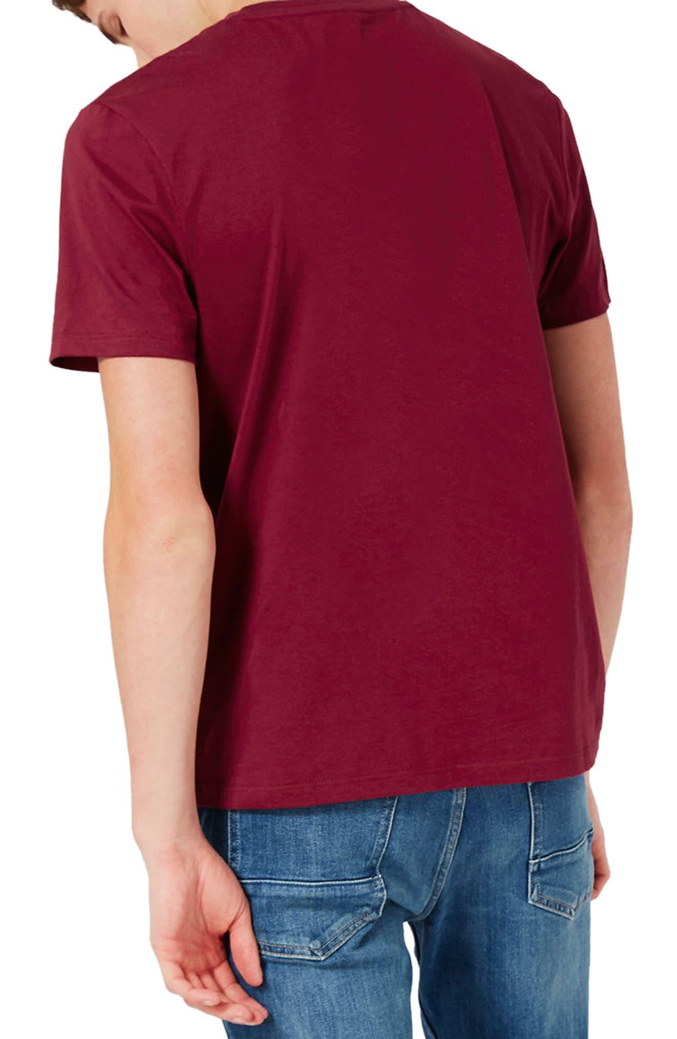 Slim Fit Crewneck T-Shirt,                             Alternate thumbnail 129, color,