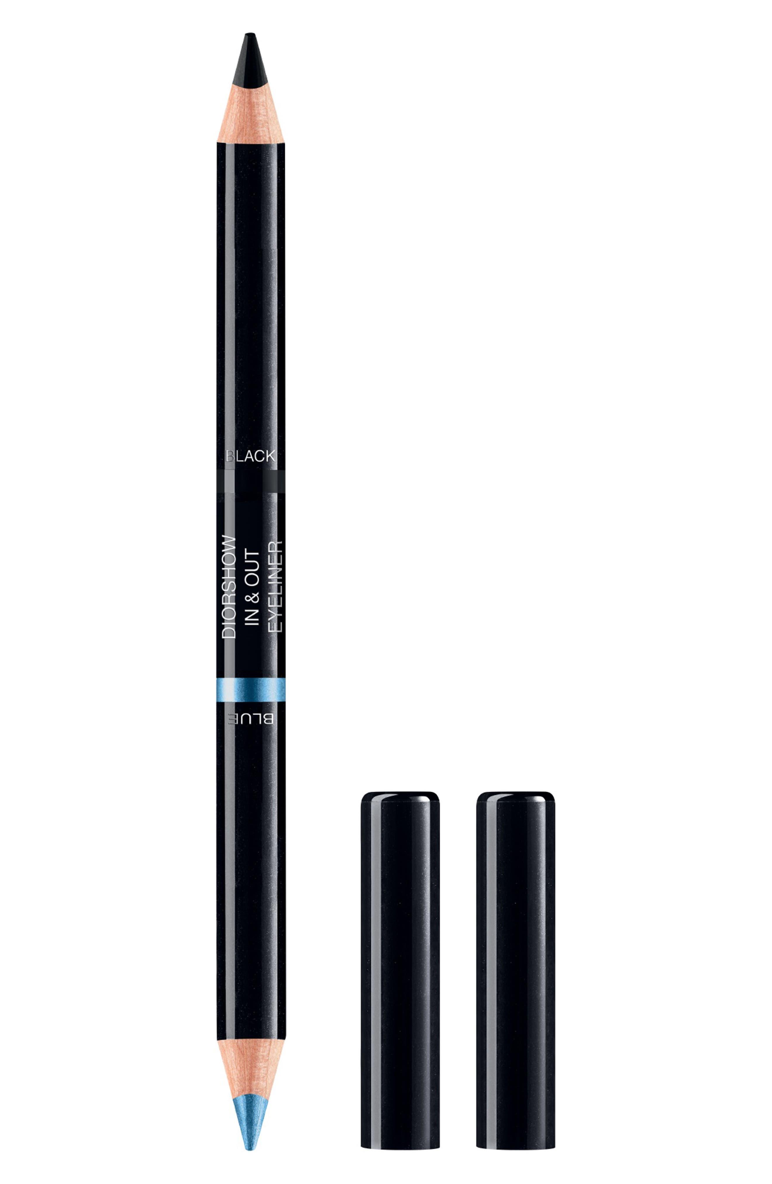 Dior Diorshow In & Out Waterproof Eyeliner - 001 Black/blue