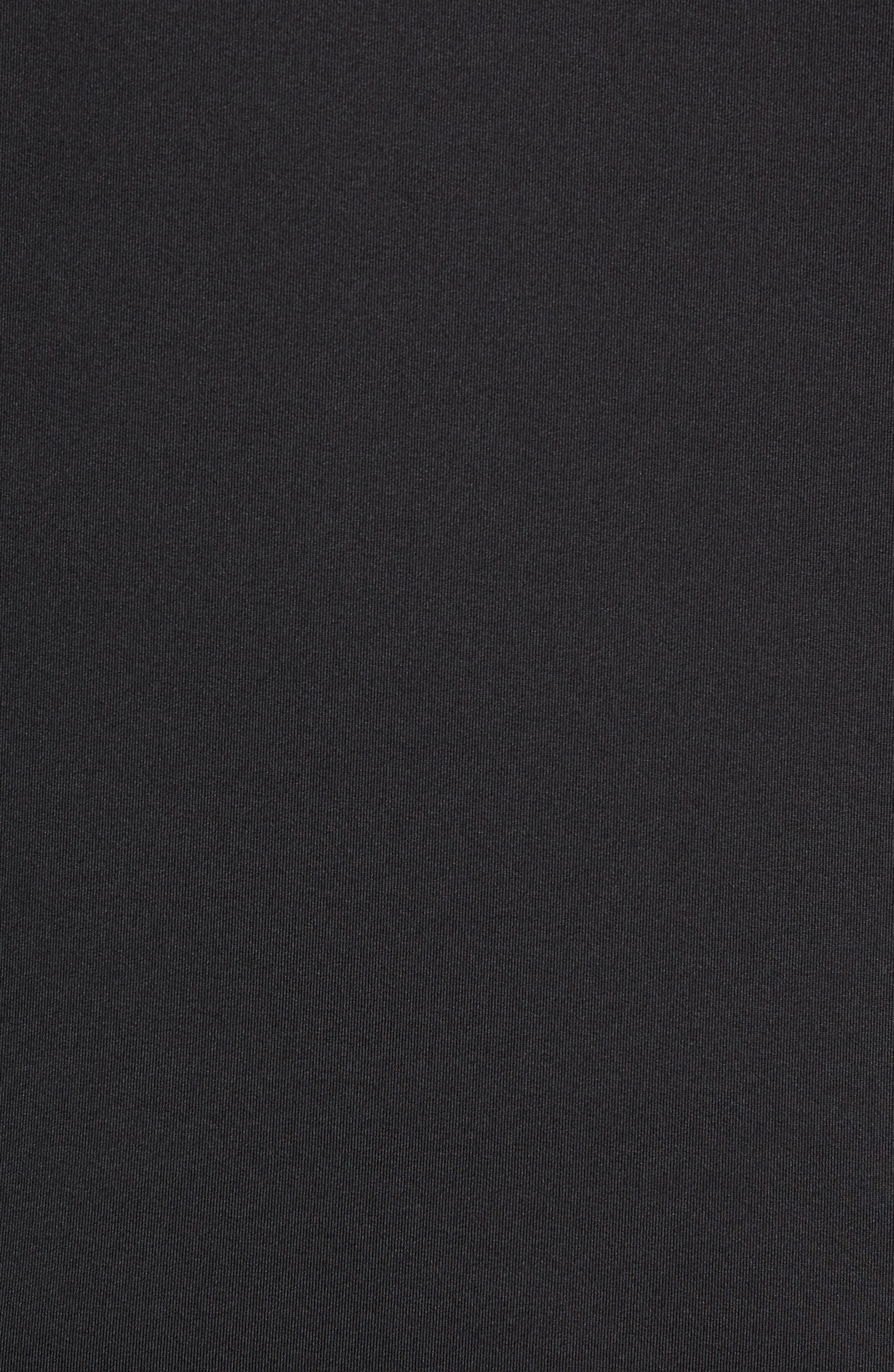 NIKE,                             Niko Pro Therma Long Sleeve Mock Neck T-Shirt,                             Alternate thumbnail 5, color,                             010