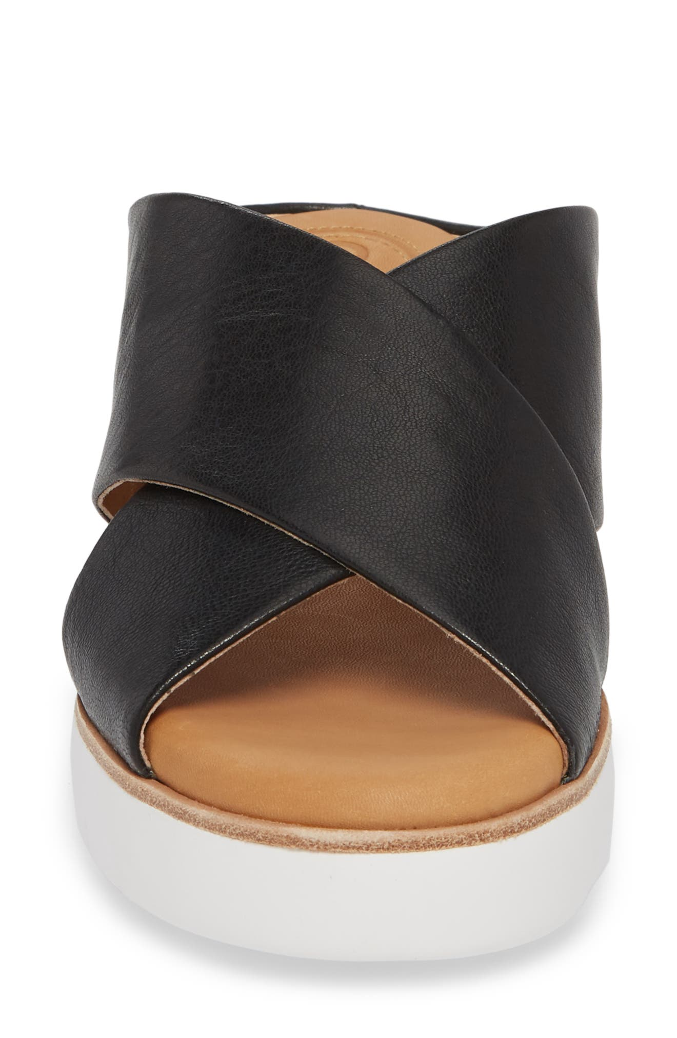 CC CORSO COMO<SUP>®</SUP>,                             Brunna Sandal,                             Alternate thumbnail 4, color,                             BLACK LEATHER