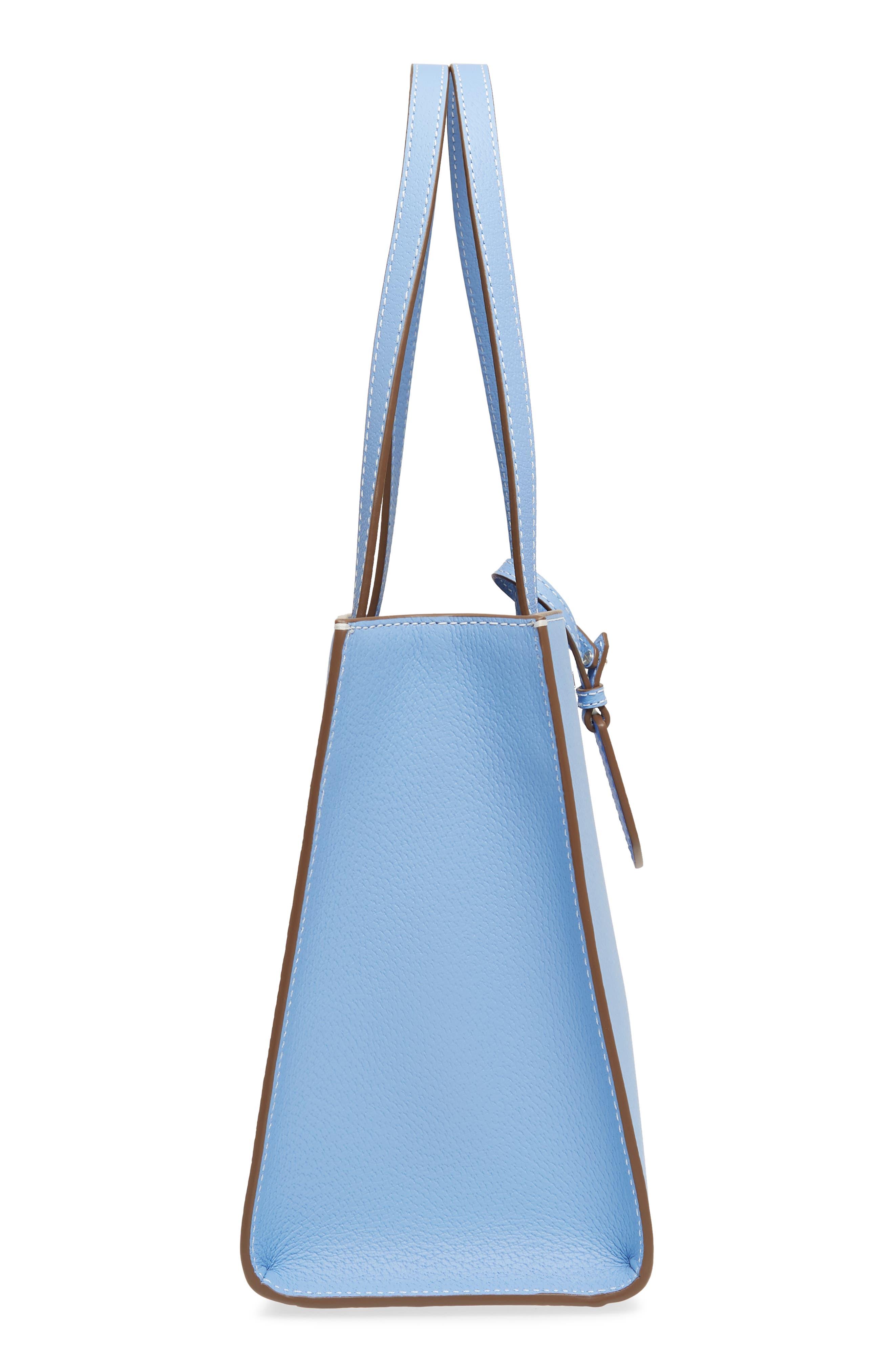 thompson street - large sam leather handbag,                             Alternate thumbnail 10, color,