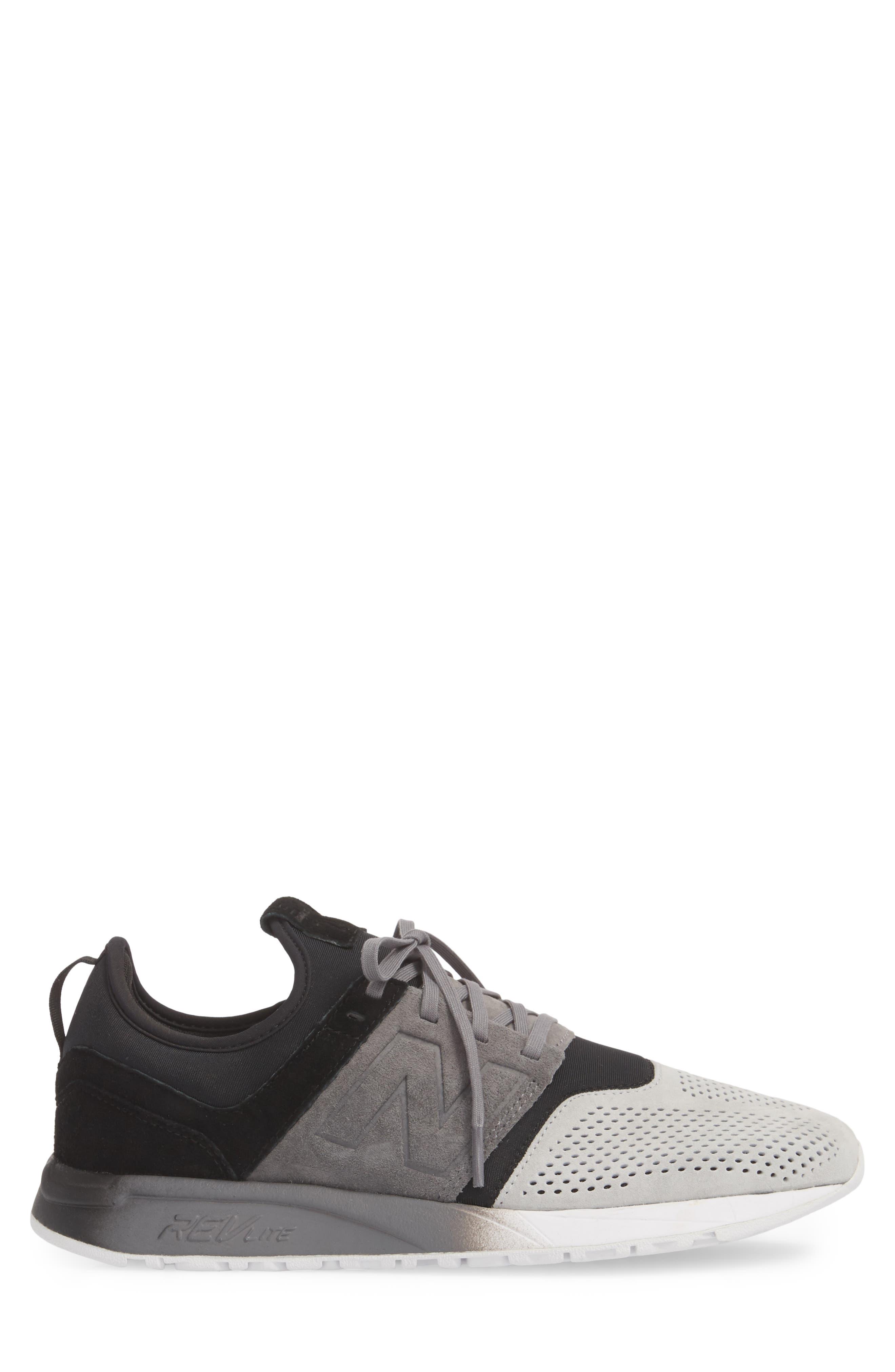 NEW BALANCE,                             247 Sport Sneaker,                             Alternate thumbnail 3, color,                             001