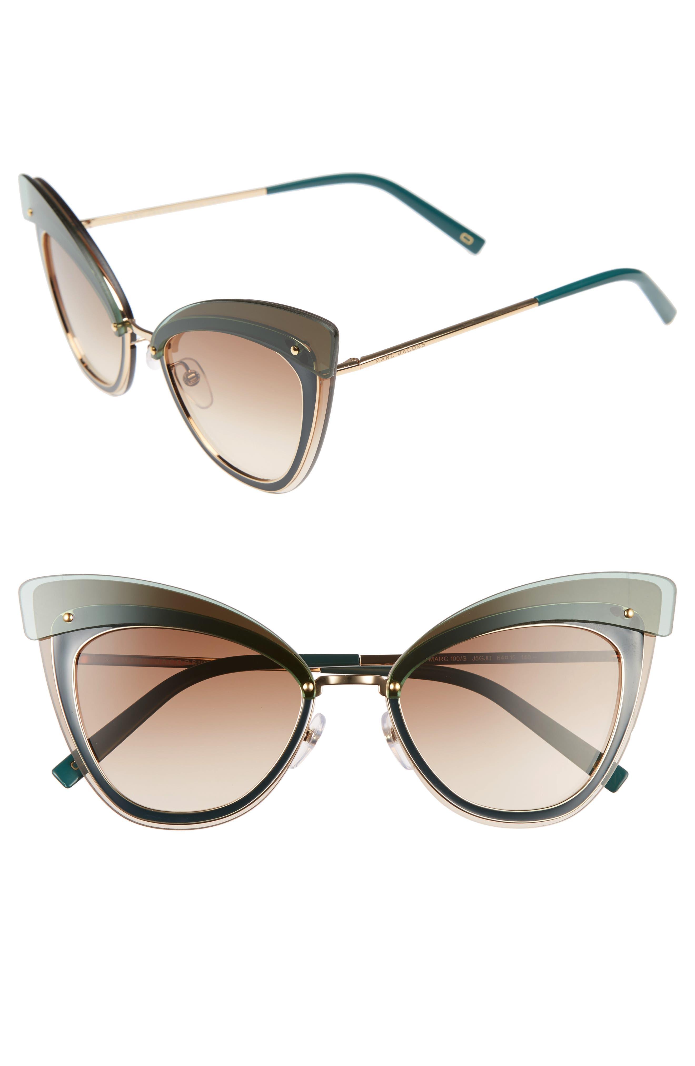64mm Sunglasses,                             Alternate thumbnail 6, color,