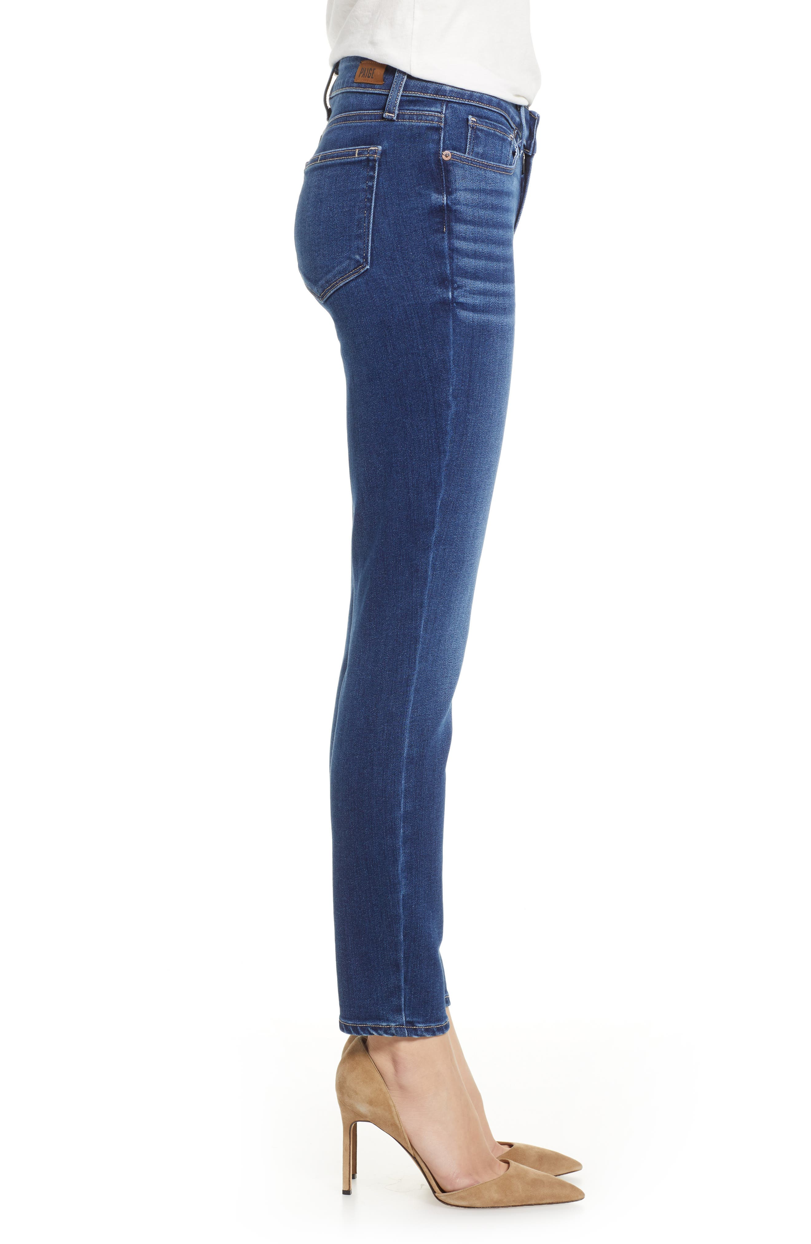 Verdugo Ankle Skinny Jeans,                             Alternate thumbnail 3, color,                             TOWNSEND