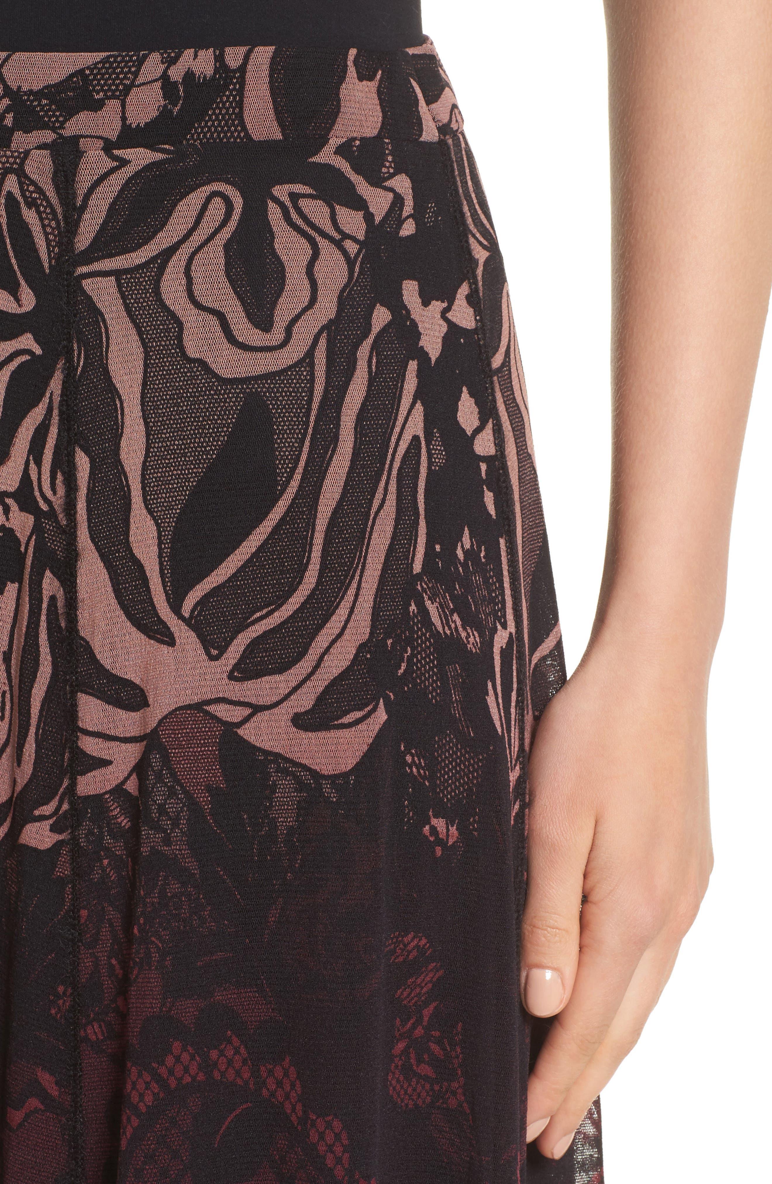 Tulle Midi Skirt,                             Alternate thumbnail 4, color,                             930