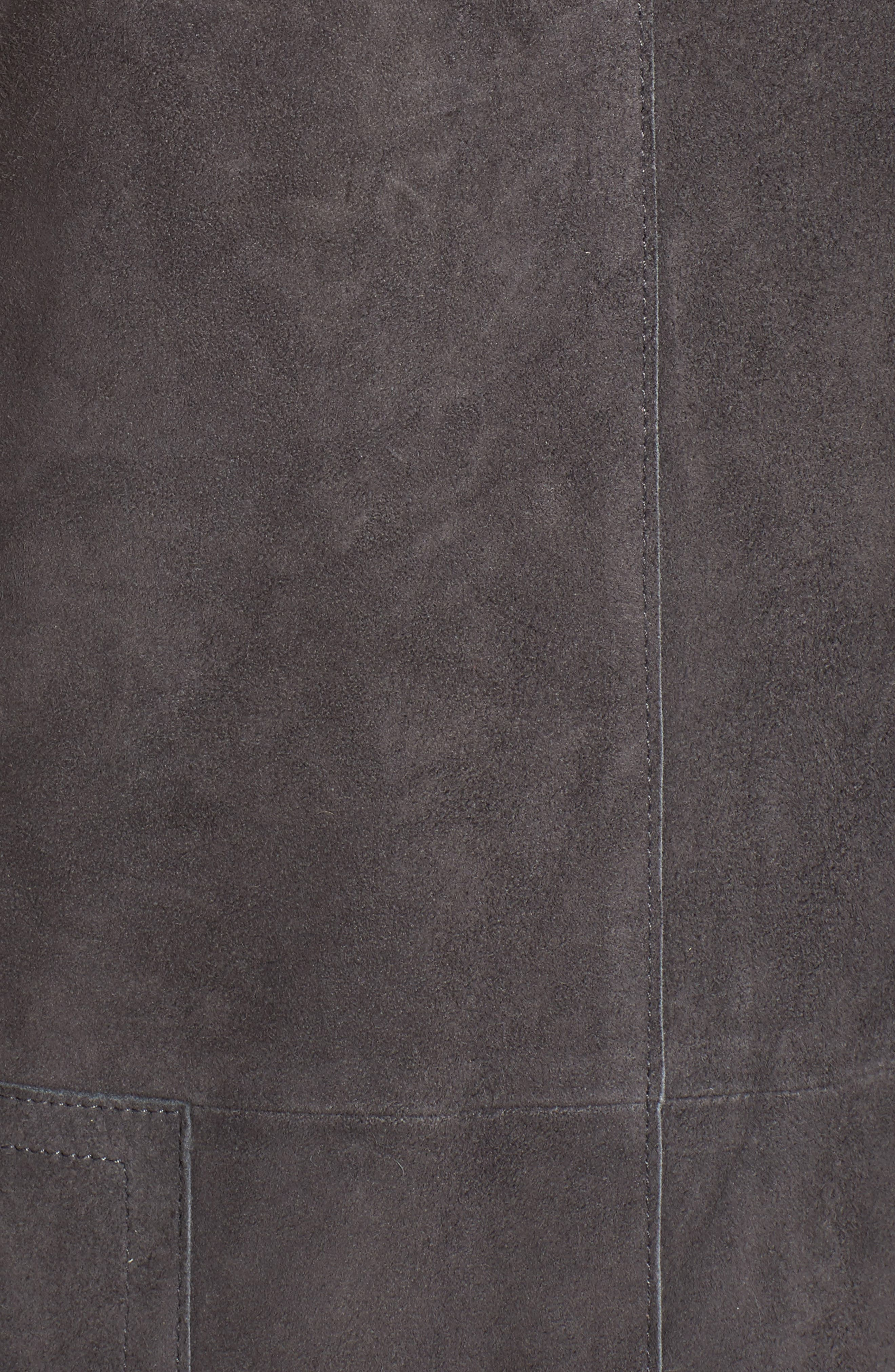 Suede Tunic,                             Alternate thumbnail 5, color,                             210