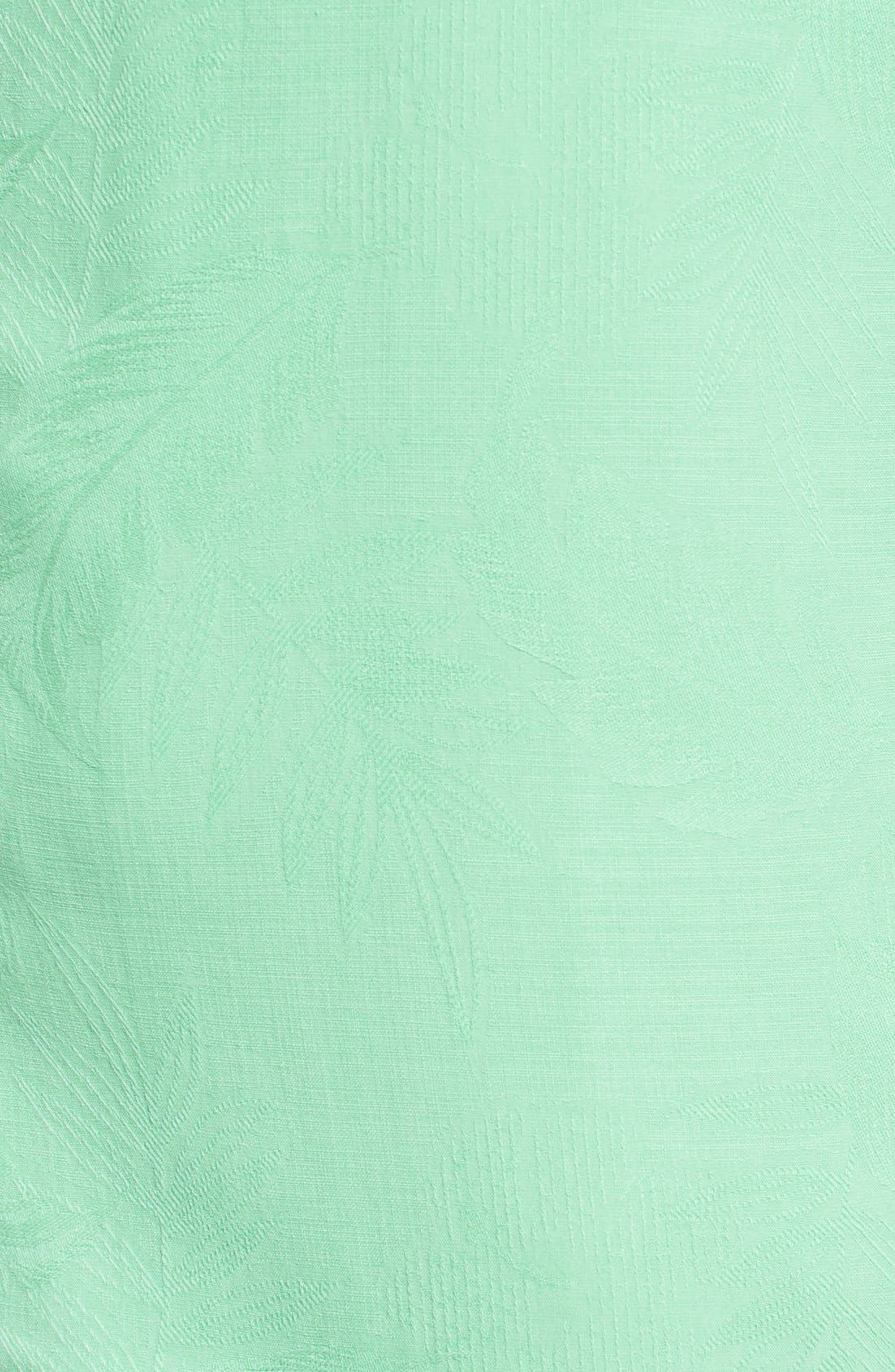 Rio Fronds Short Sleeve Silk Sport Shirt,                             Alternate thumbnail 68, color,