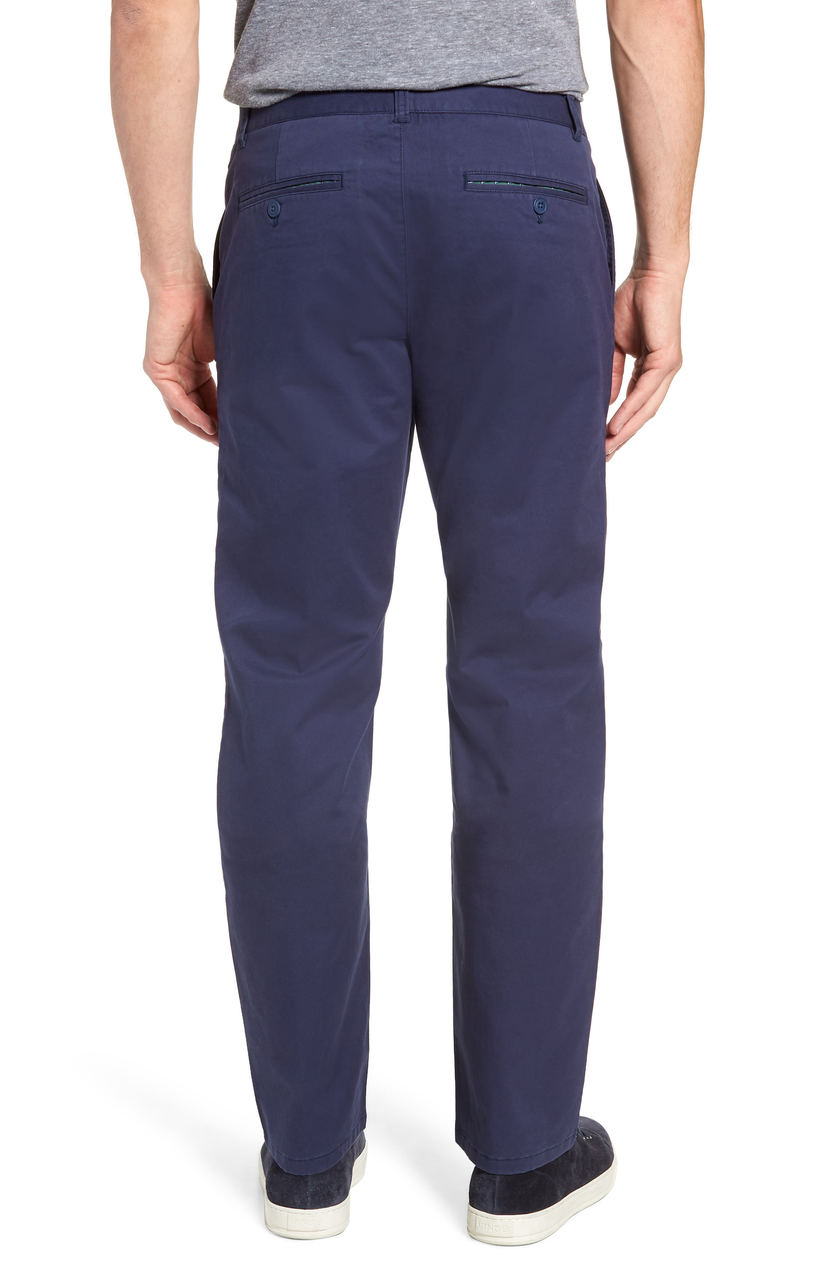 Straight Leg Stretch Washed Chinos,                             Alternate thumbnail 7, color,