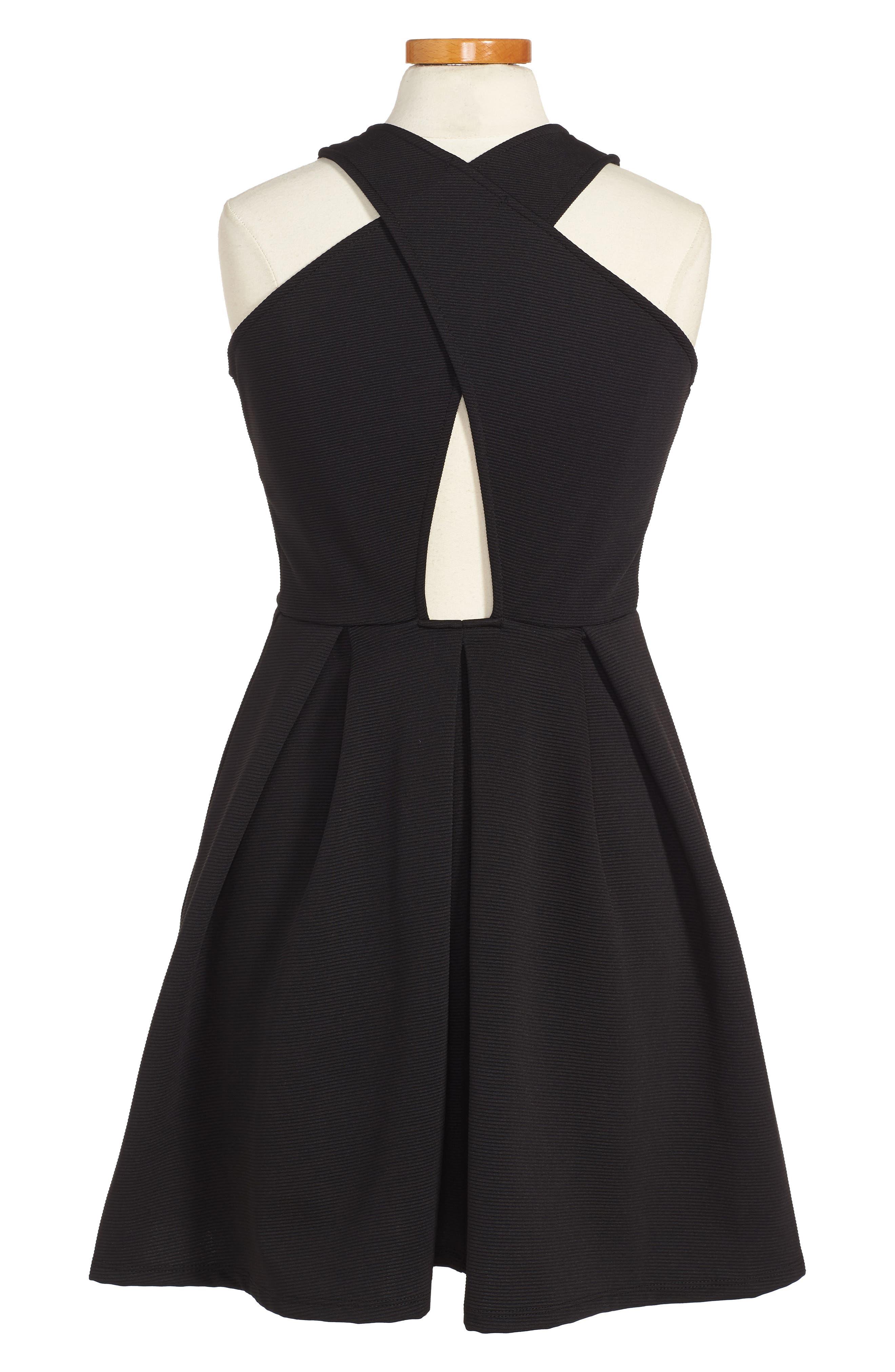 SOPRANO Skater Dress, Main, color, 002