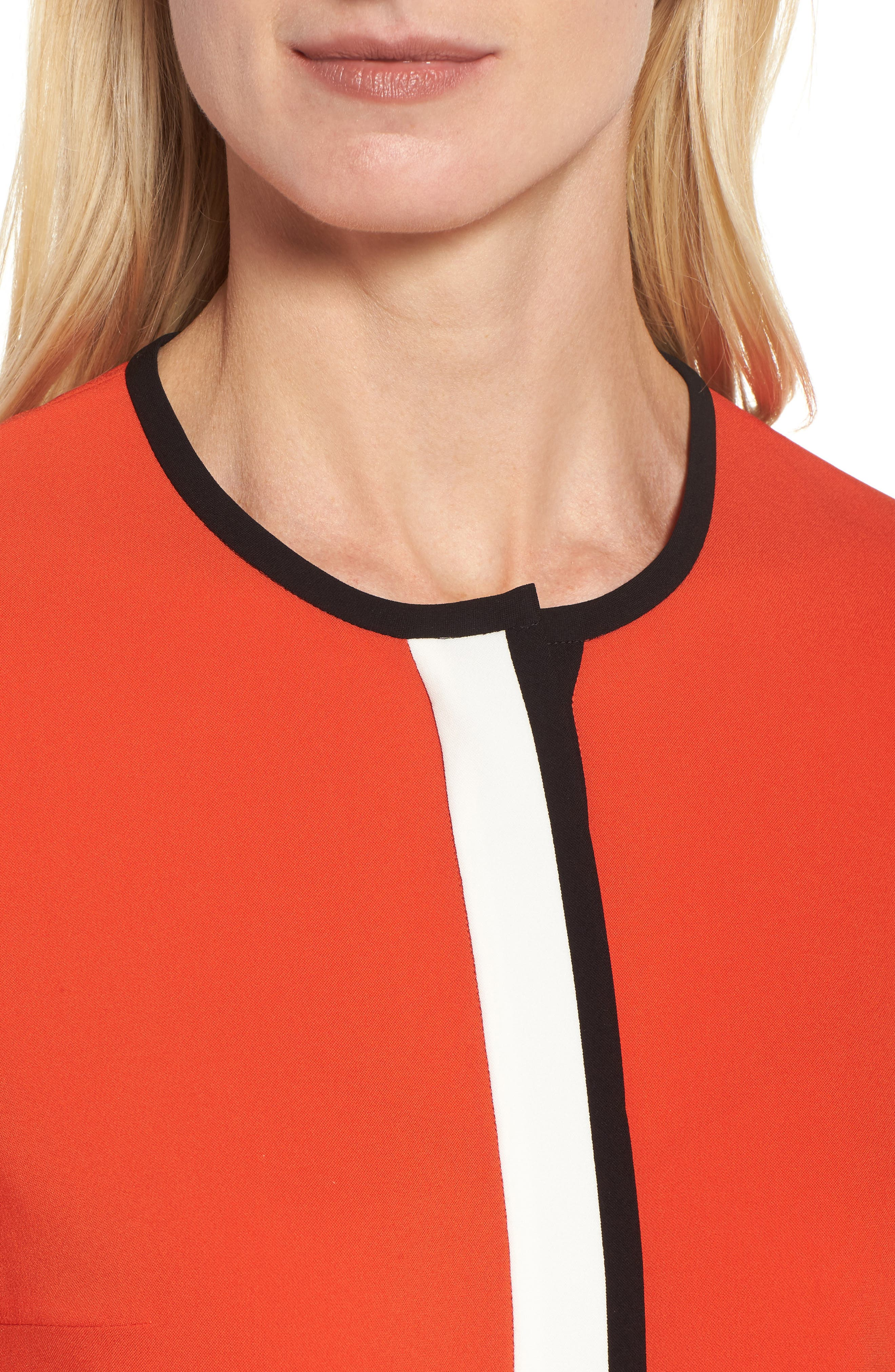 Isolani Colorblock Top,                             Alternate thumbnail 4, color,