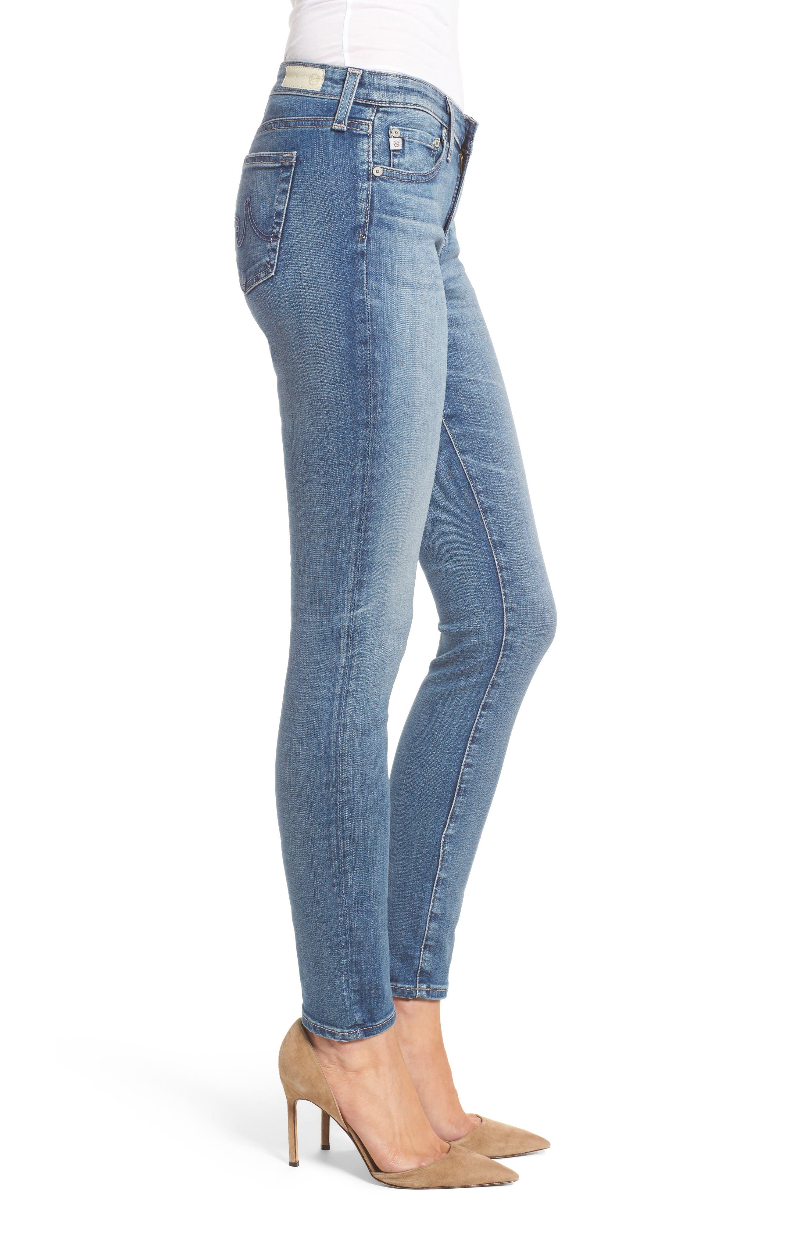 'The Legging' Super Skinny Jeans,                             Alternate thumbnail 22, color,