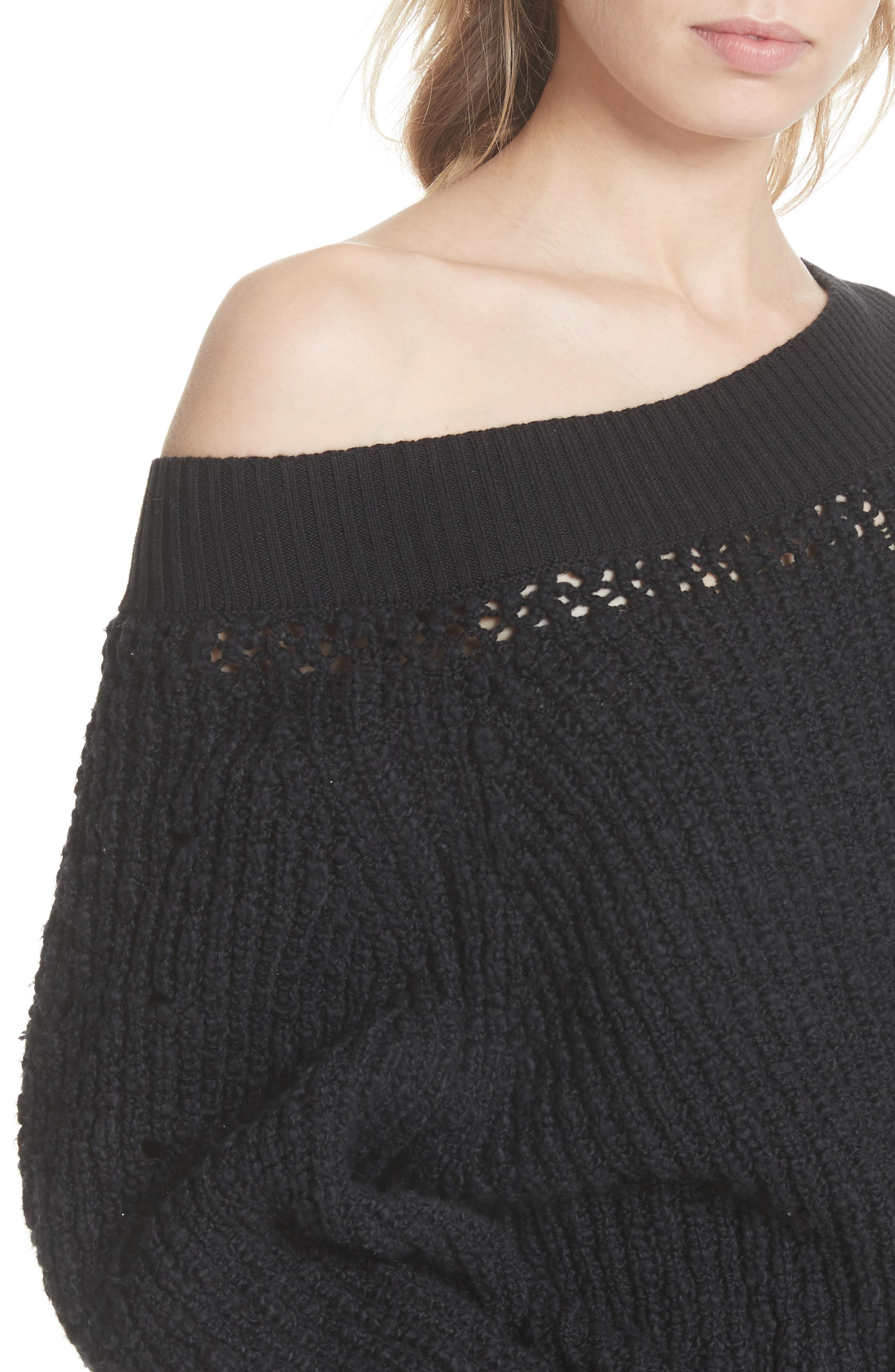 Pandora's Boatneck Sweater,                             Alternate thumbnail 13, color,