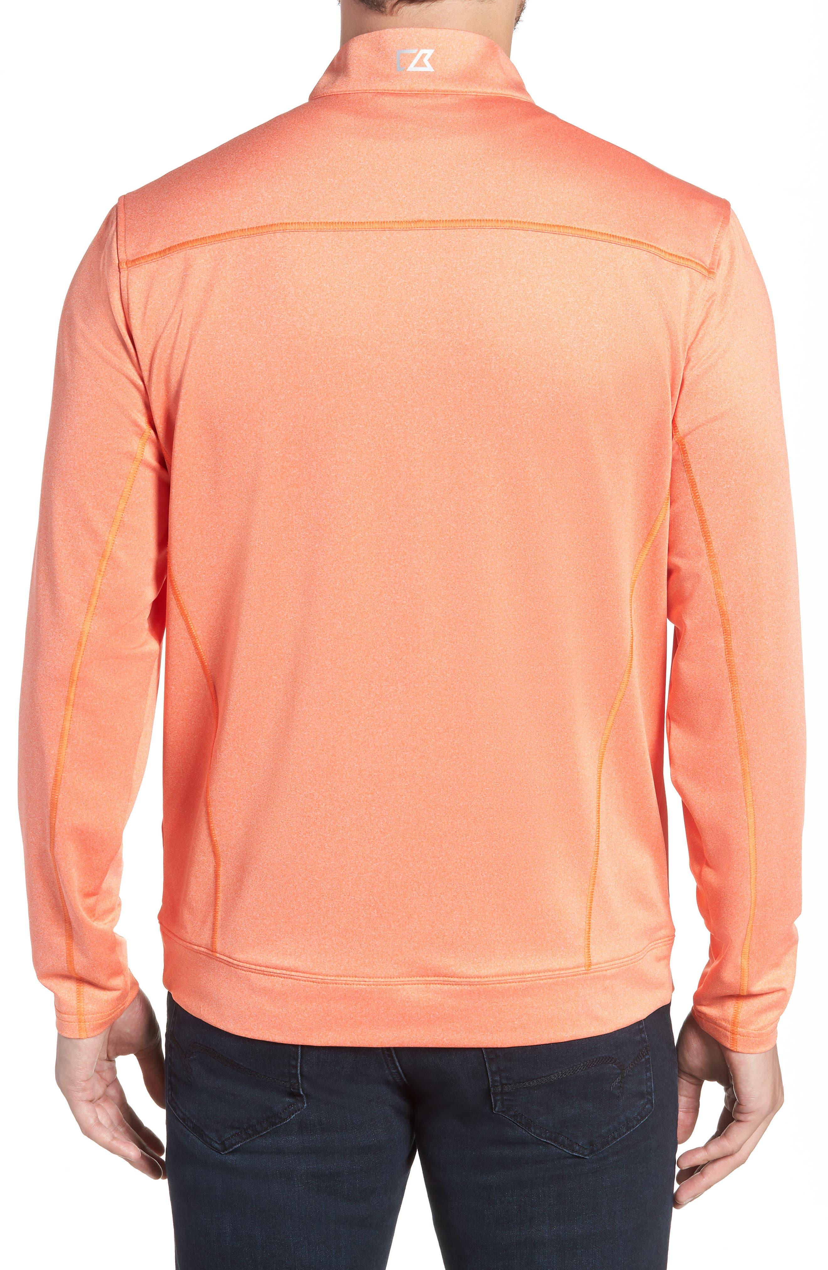 Endurance Cincinnati Bengals Regular Fit Pullover,                             Alternate thumbnail 2, color,                             COLLEGE ORANGE HEATHER