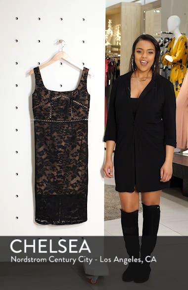 Stella Lace Sheath Dress, sales video thumbnail