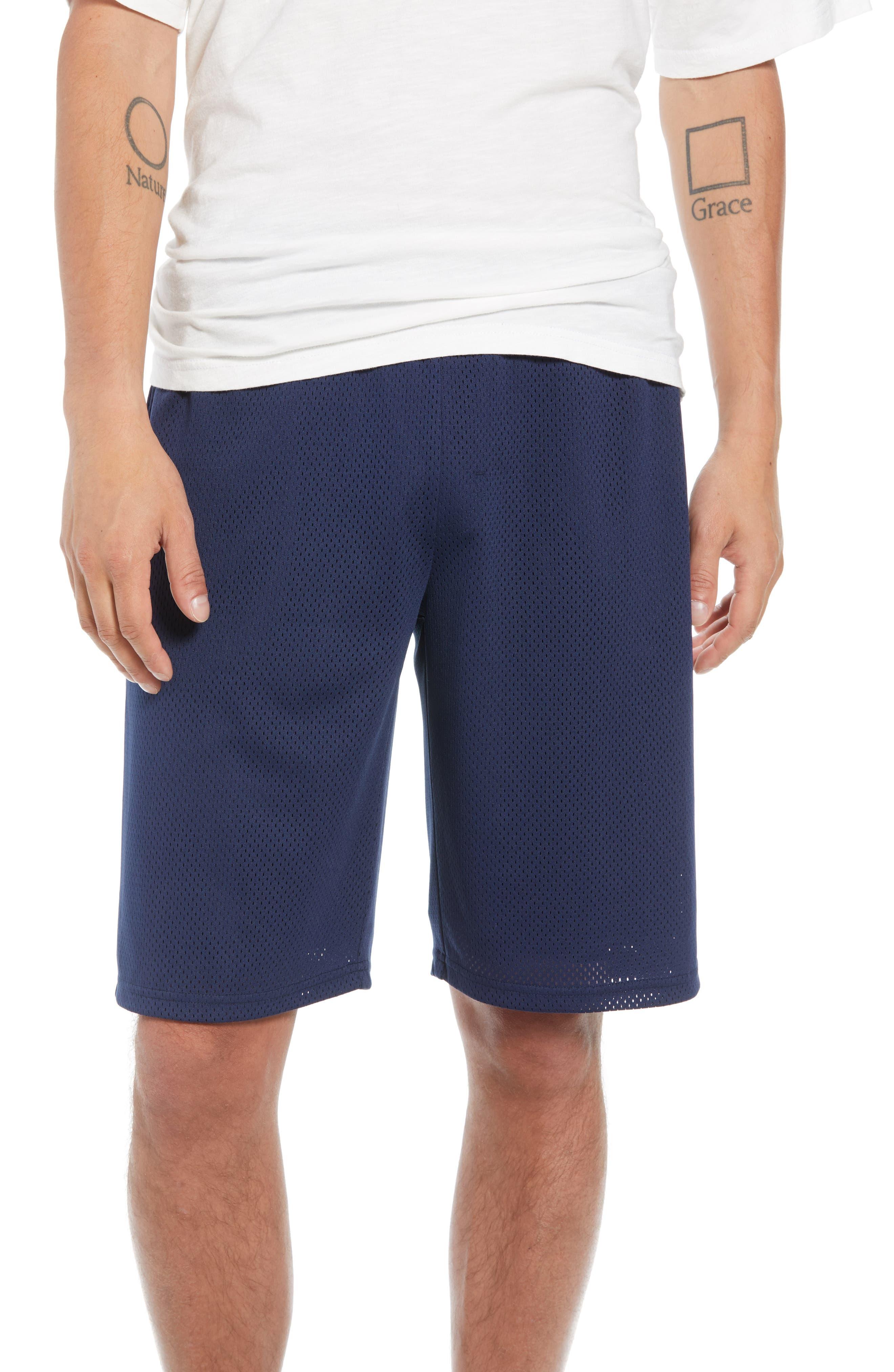 Basketball Shorts,                         Main,                         color, NAVY PEACOAT