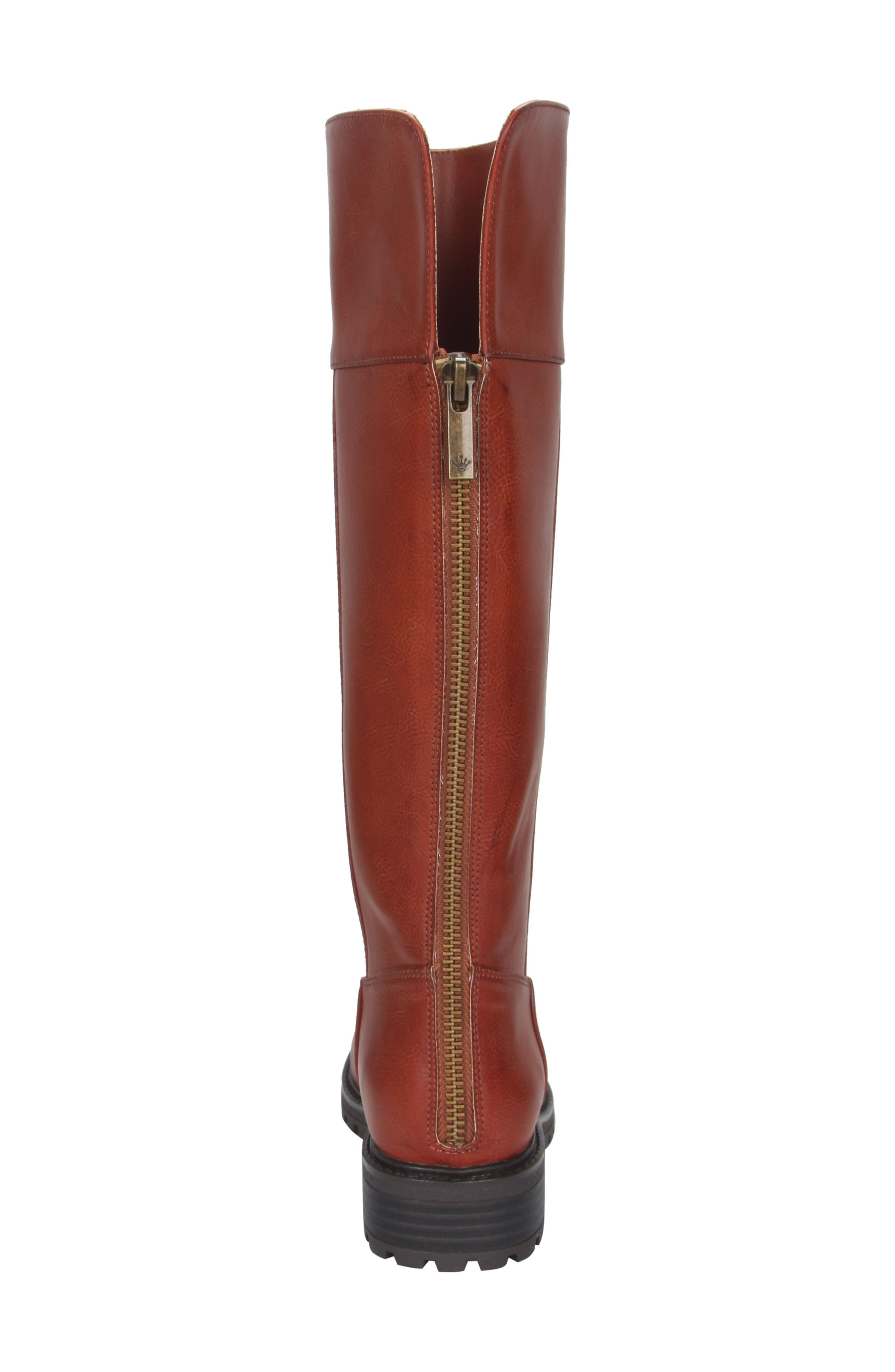 Nixie Tall Lugged Boot,                             Alternate thumbnail 12, color,