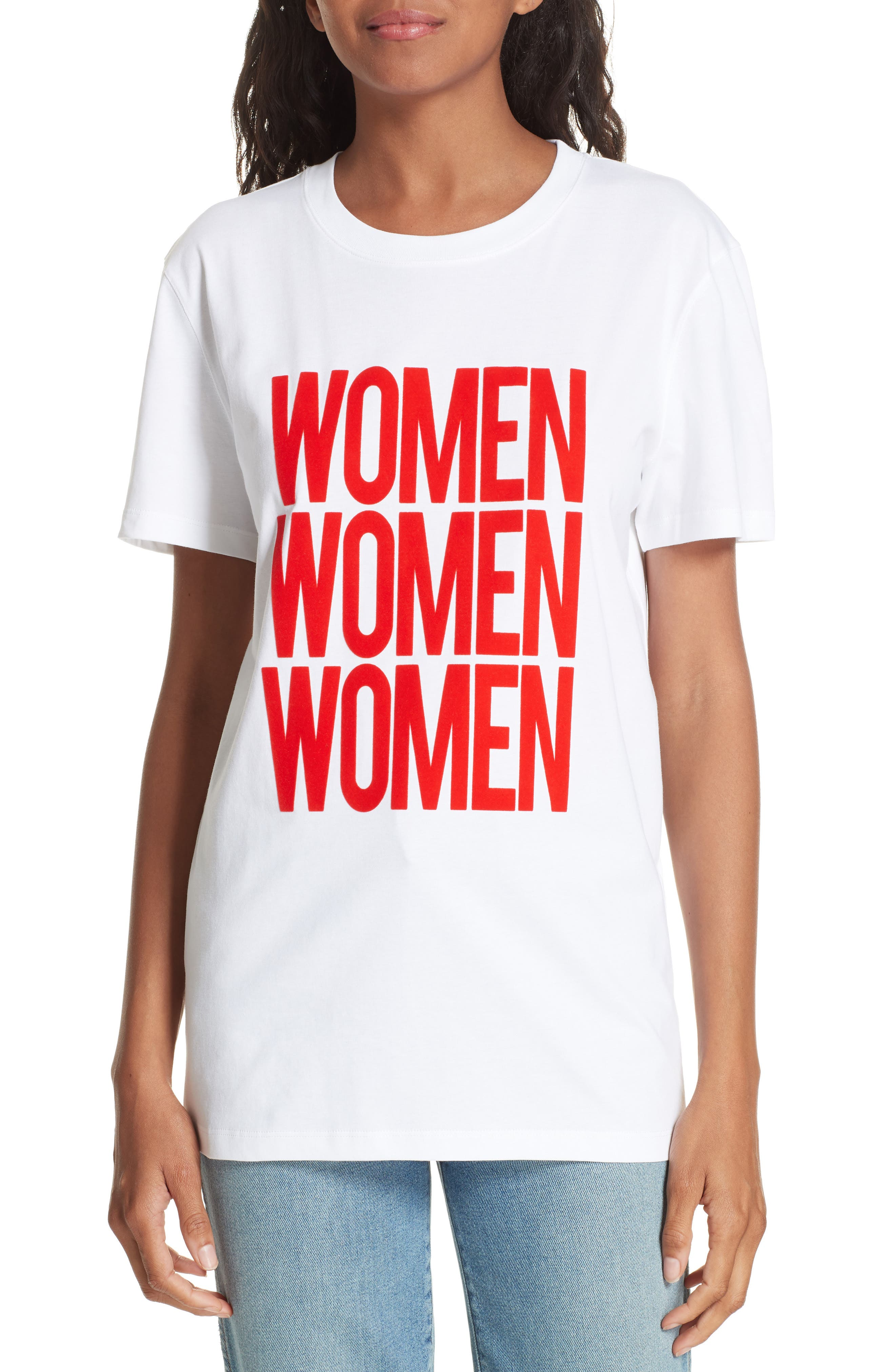 Ciel Women Women Women Tee,                             Main thumbnail 1, color,                             WHITE