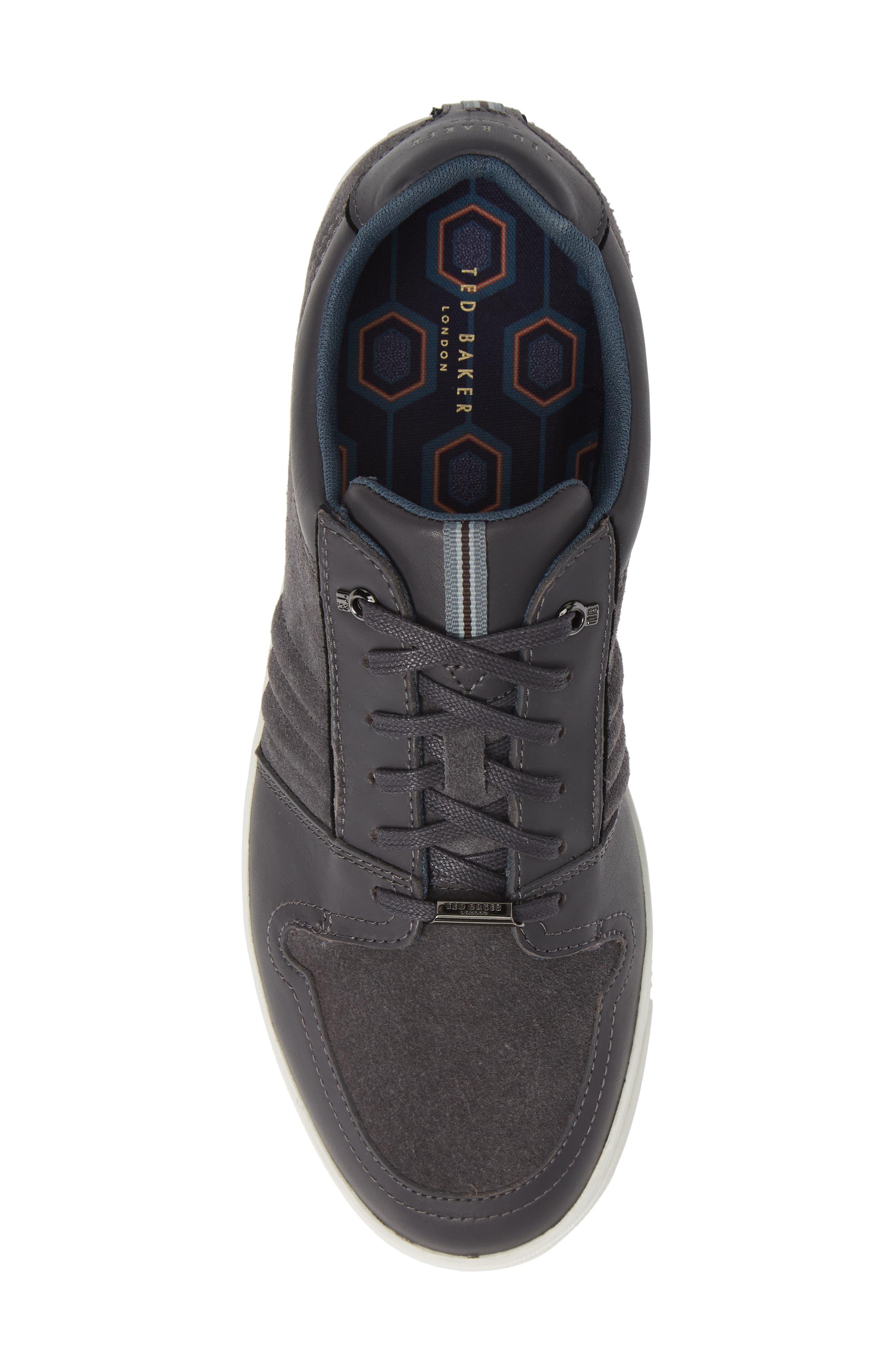 Kalhan Sneaker,                             Alternate thumbnail 5, color,                             DARK GREY