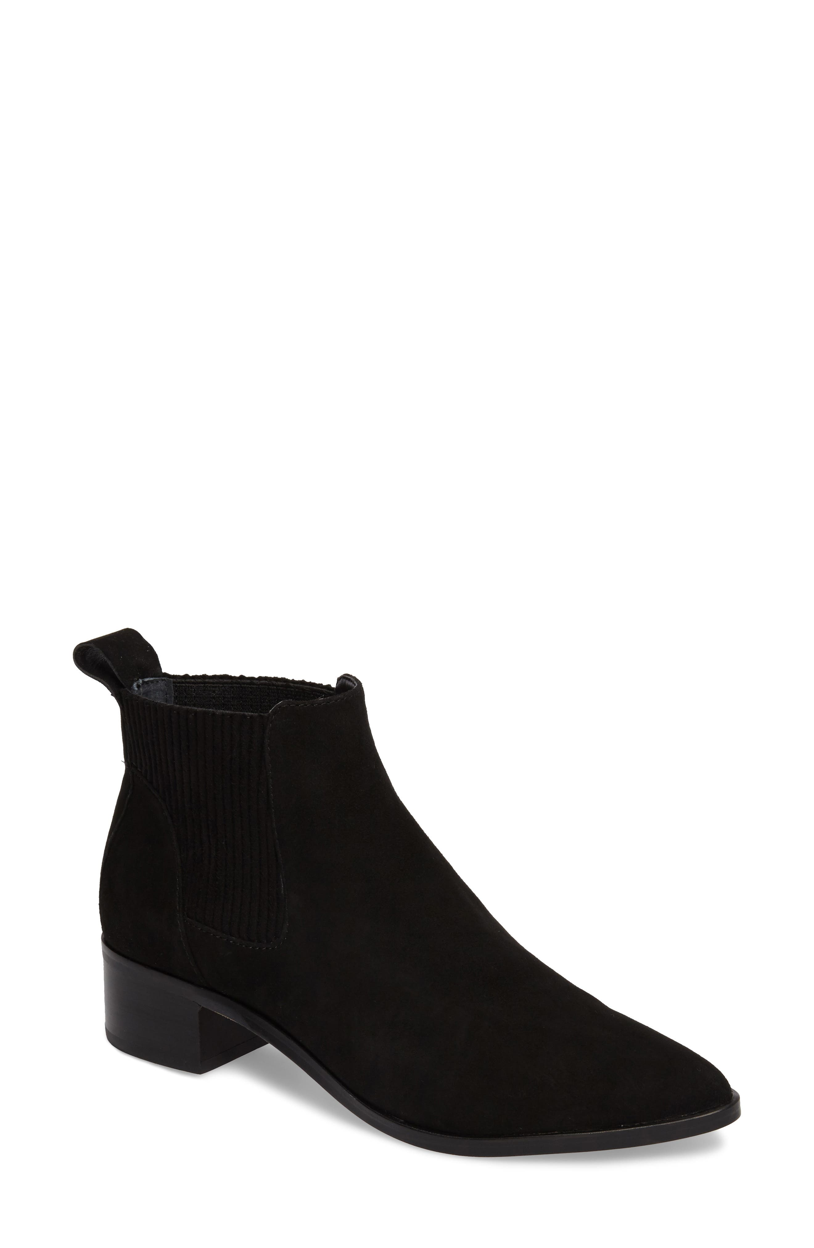 Macie Pointy Toe Chelsea Bootie,                             Main thumbnail 3, color,