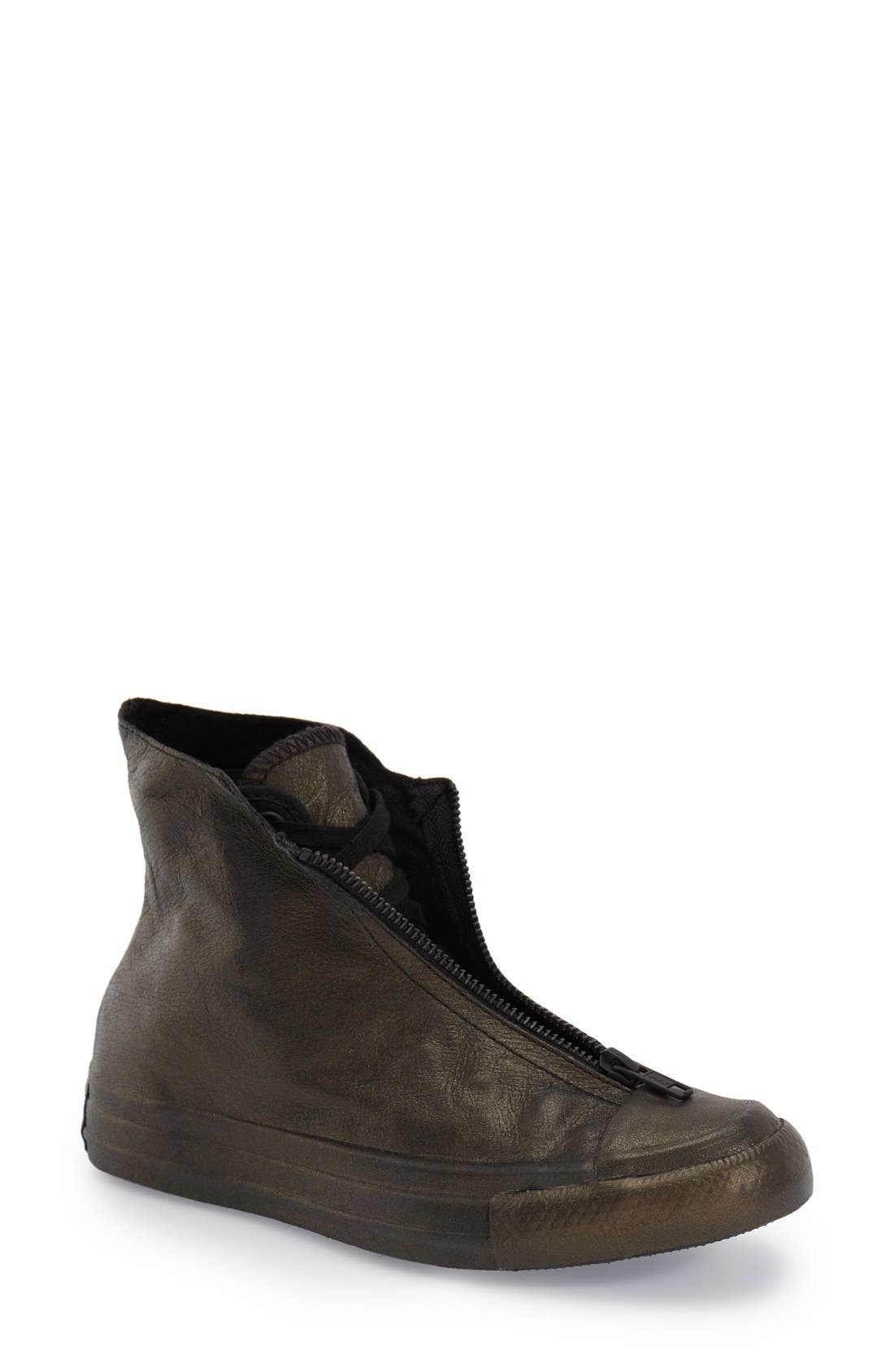 CONVERSE Chuck Taylor<sup>®</sup> All Star<sup>®</sup> 'Shroud' Metallic High Top Sneaker, Main, color, 017