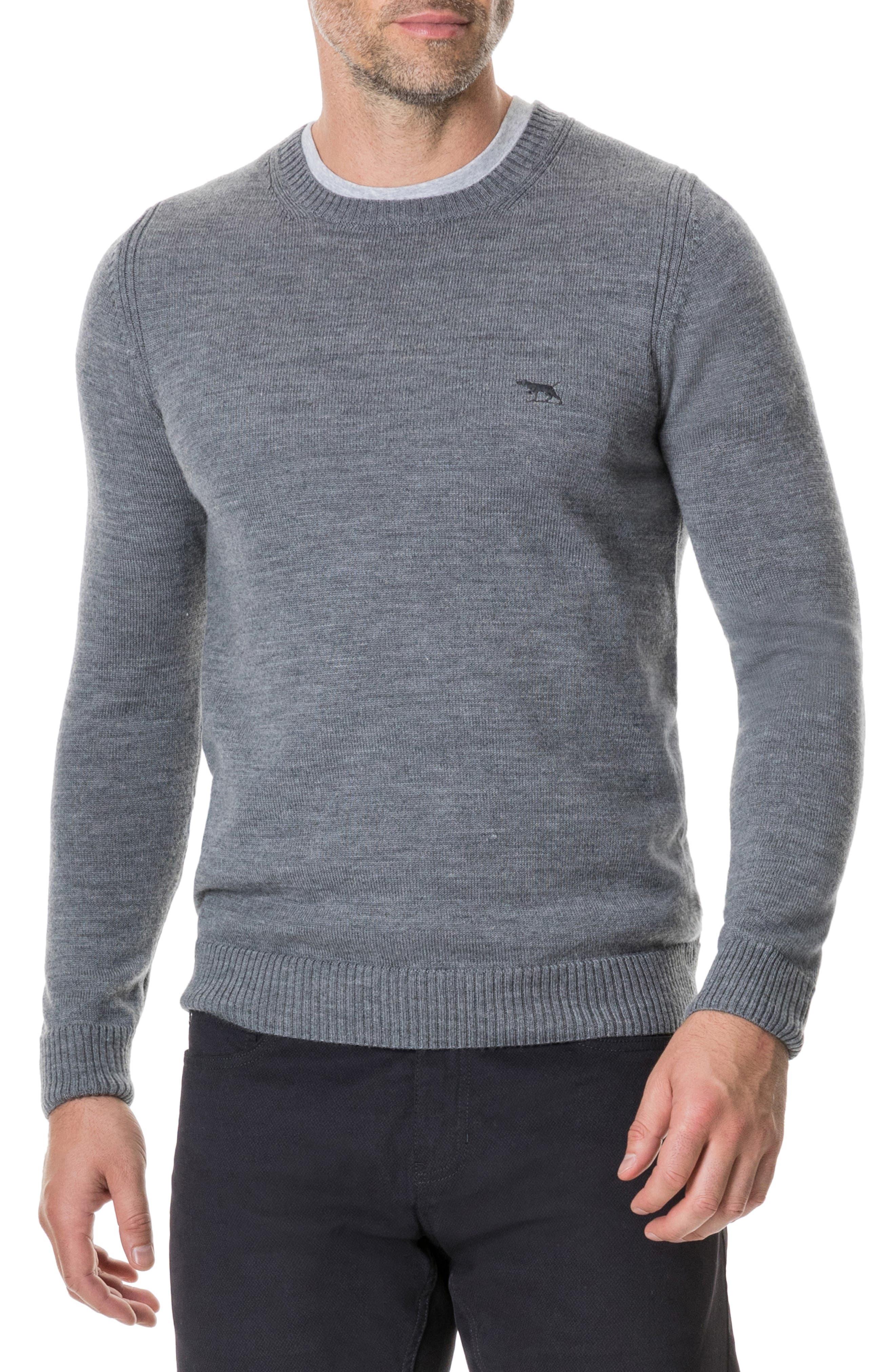 Gala Street Sweater,                             Main thumbnail 1, color,                             SMOKE
